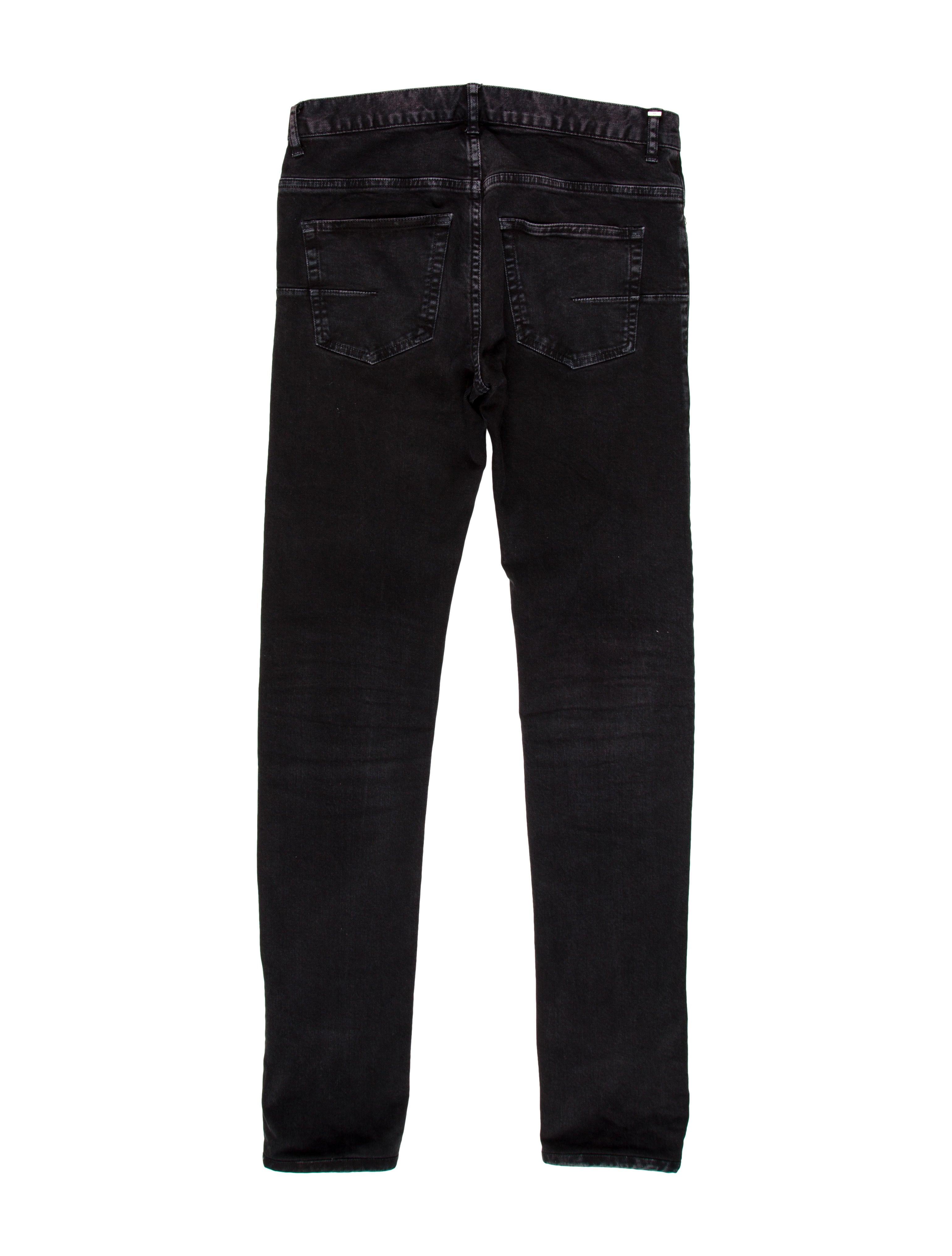 dior homme five pocket skinny jeans clothing hmm22756 the realreal. Black Bedroom Furniture Sets. Home Design Ideas