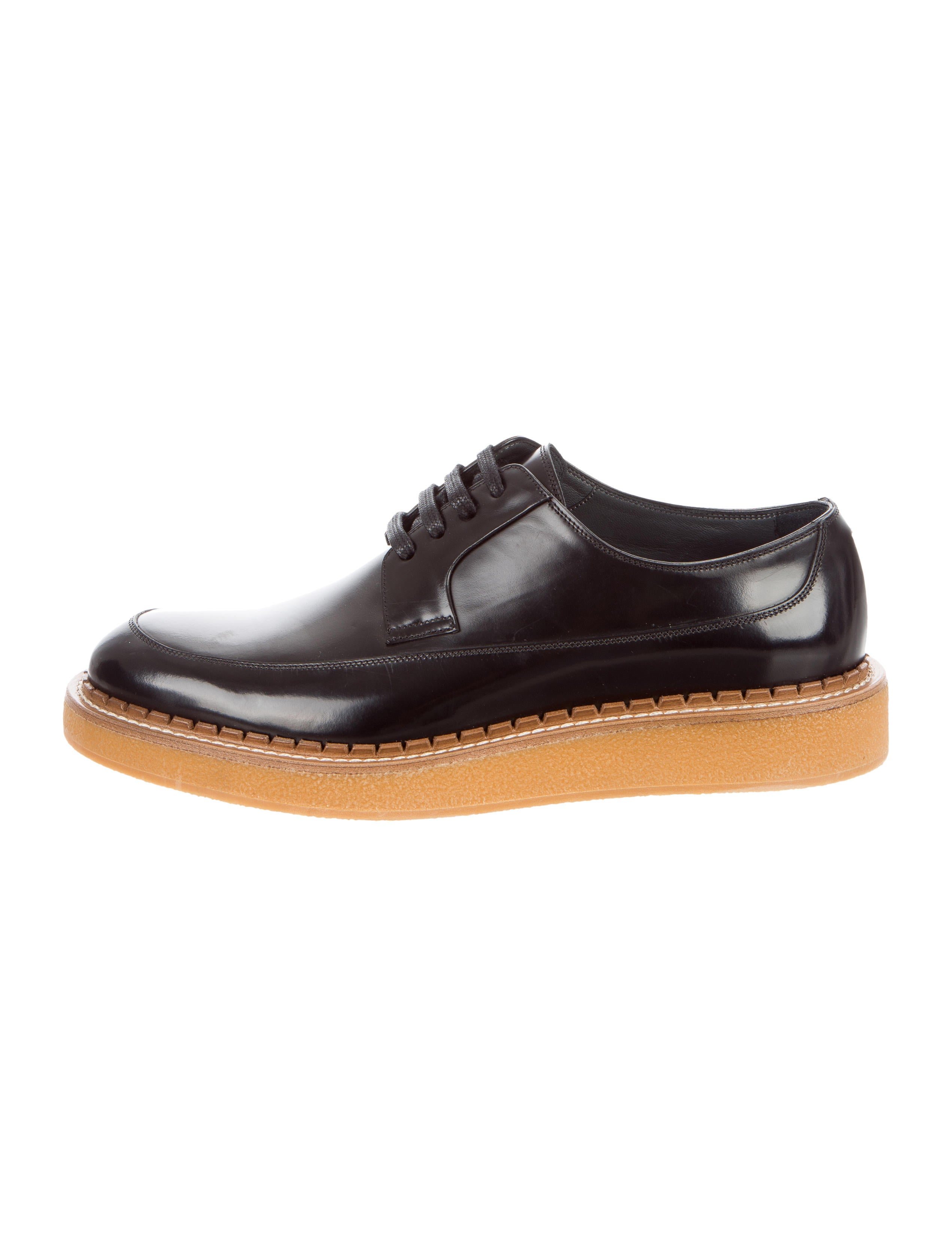 Dior Black Leather Derby Shoes