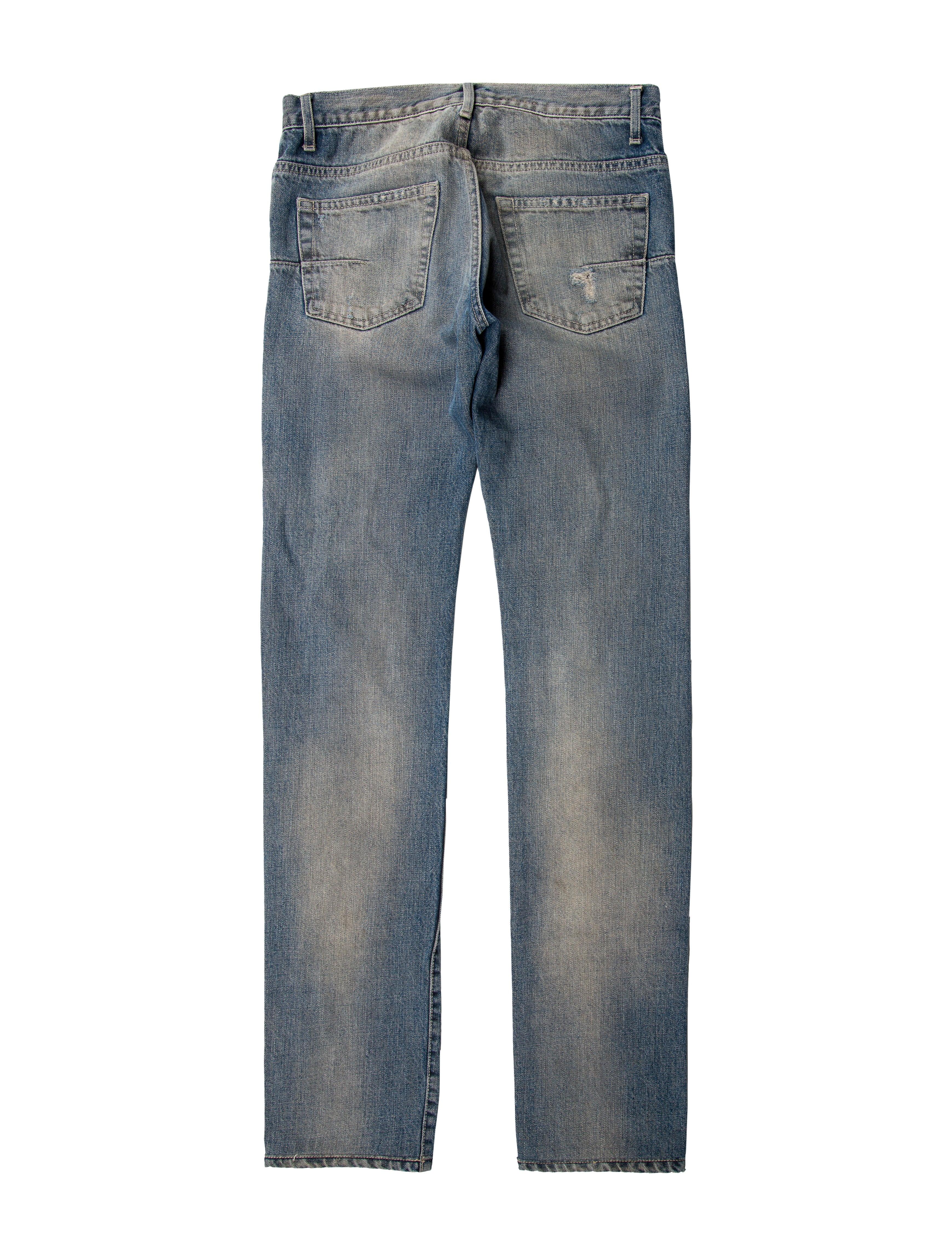 dior homme five pocket skinny jeans clothing hmm22776 the realreal. Black Bedroom Furniture Sets. Home Design Ideas
