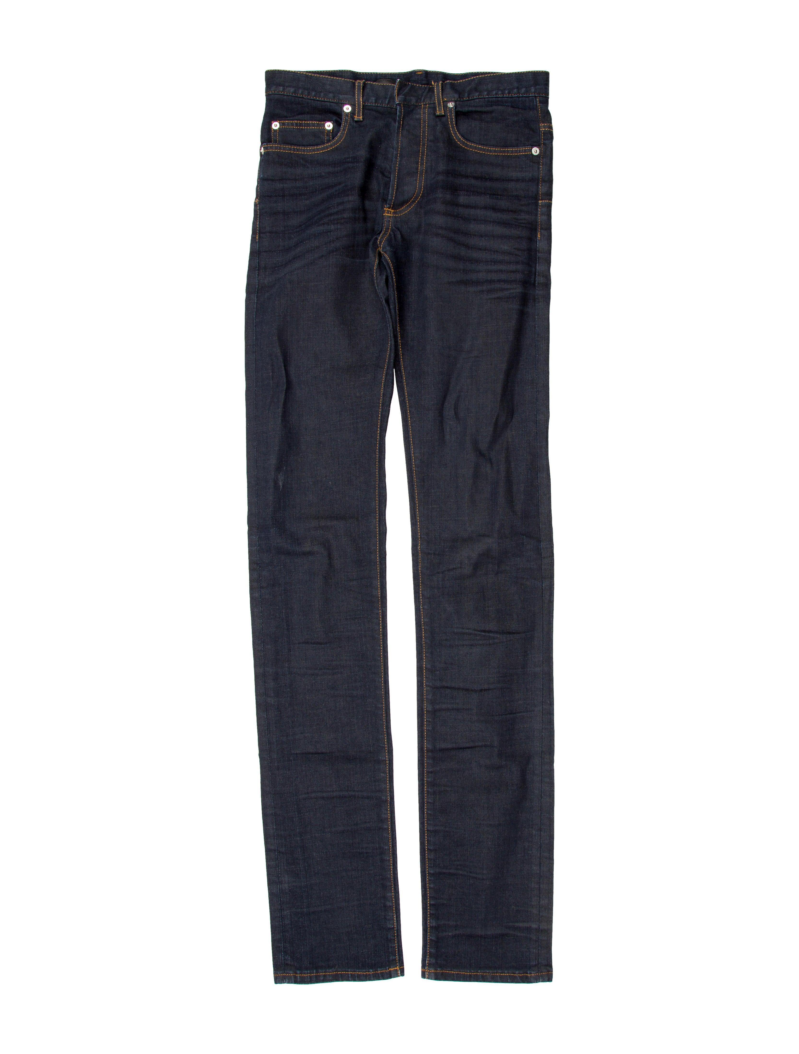 dior homme five pocket skinny jeans clothing hmm22782 the realreal. Black Bedroom Furniture Sets. Home Design Ideas