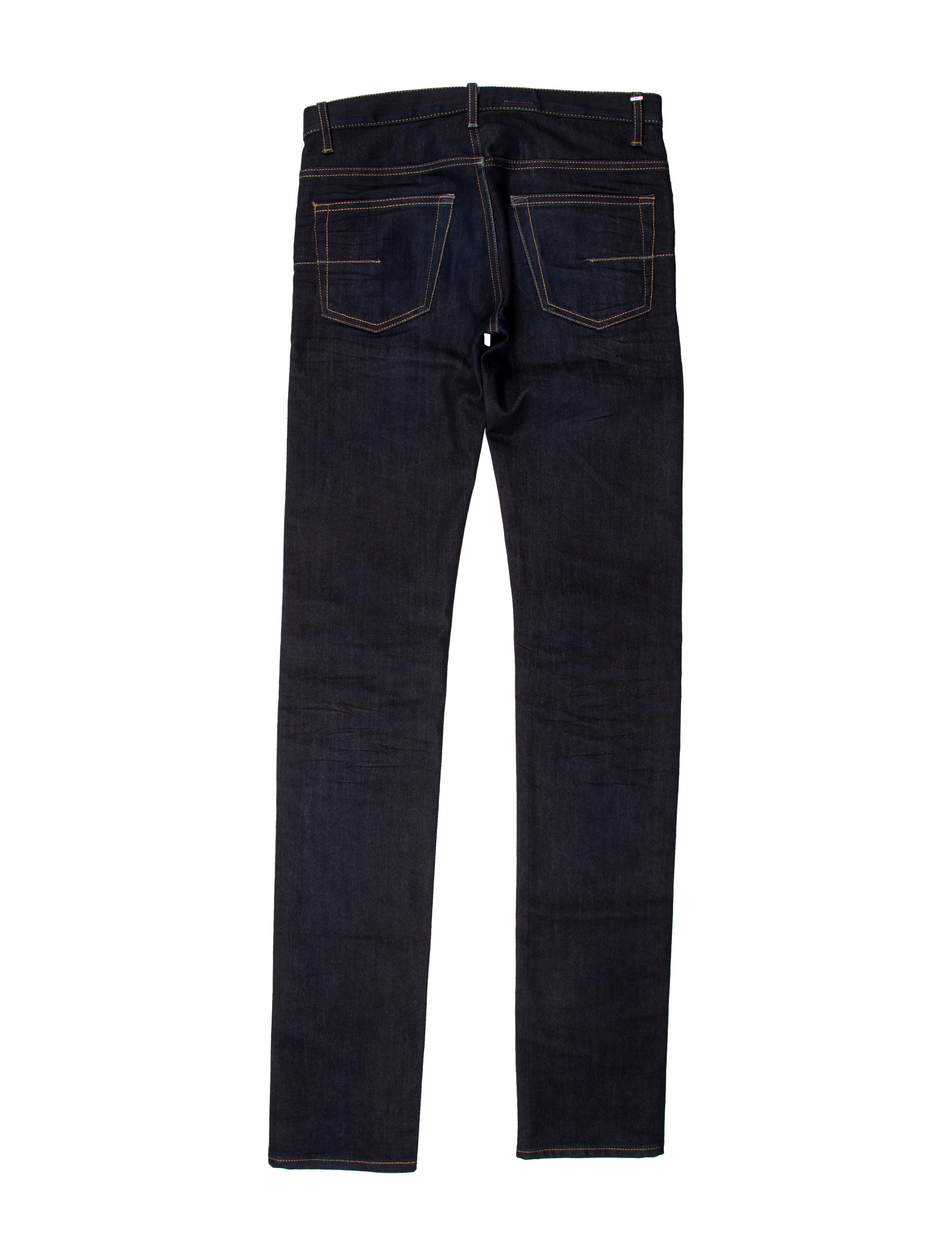 dior homme five pocket skinny jeans clothing hmm22783 the realreal. Black Bedroom Furniture Sets. Home Design Ideas