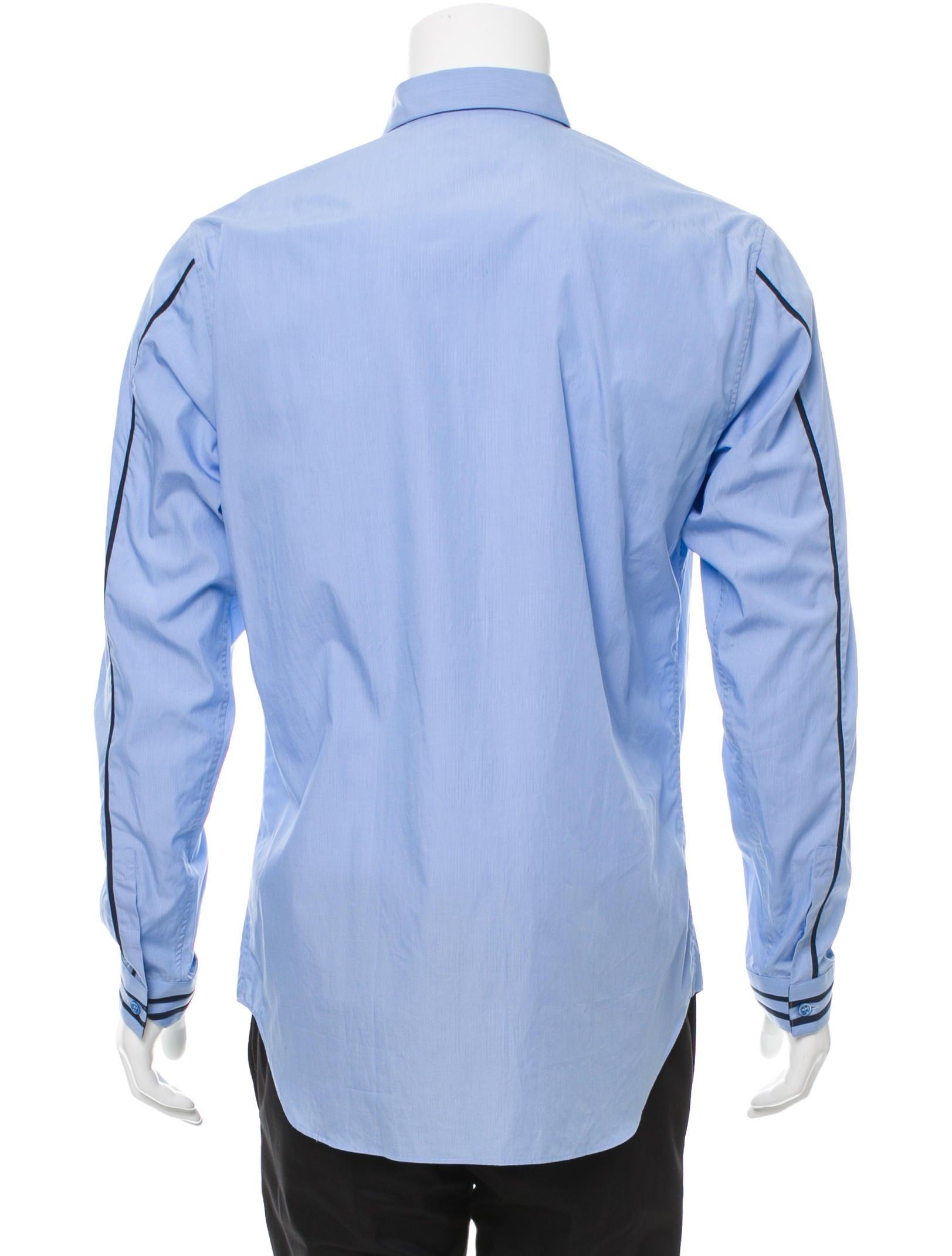 Dior Homme Pinstripe Button Up Shirt Clothing Hmm22856