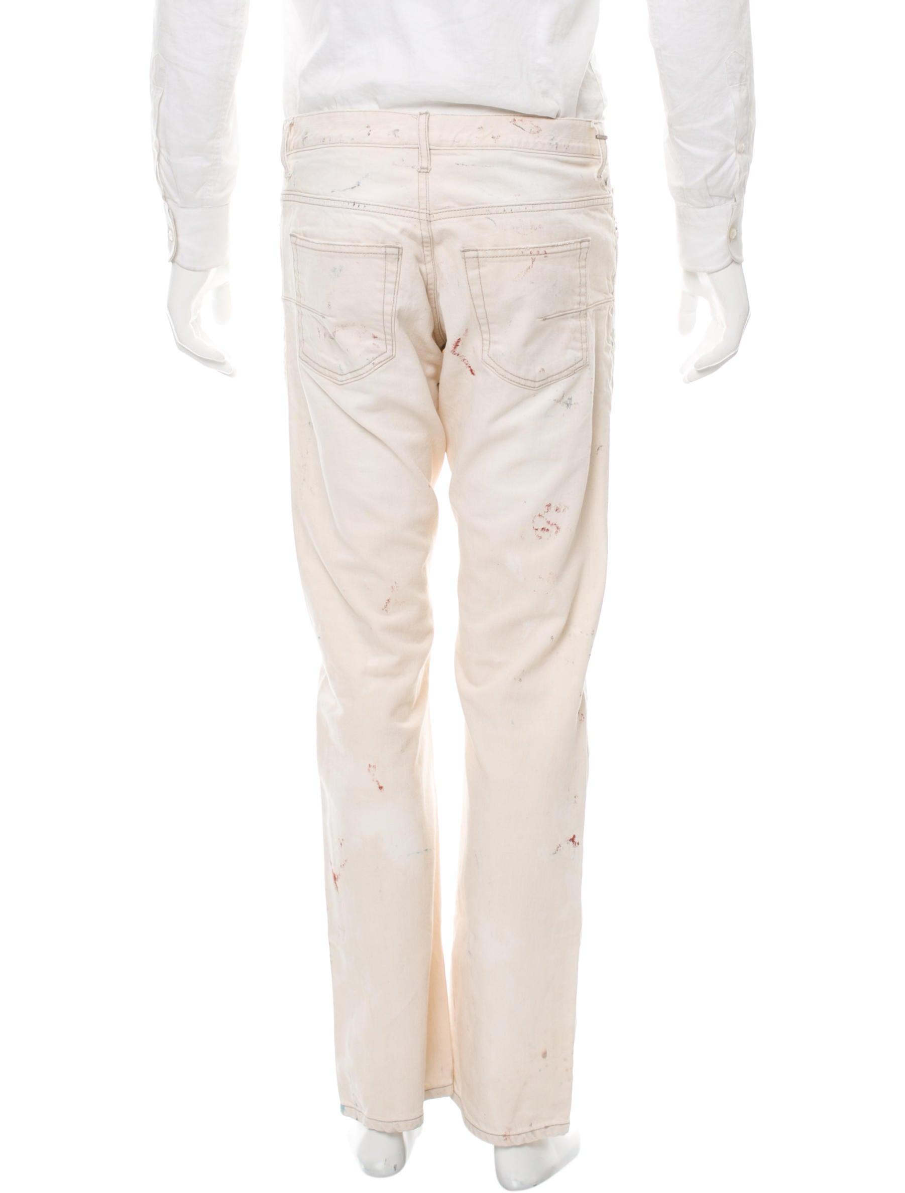 dior homme slim five pocket jeans clothing hmm22859 the realreal. Black Bedroom Furniture Sets. Home Design Ideas