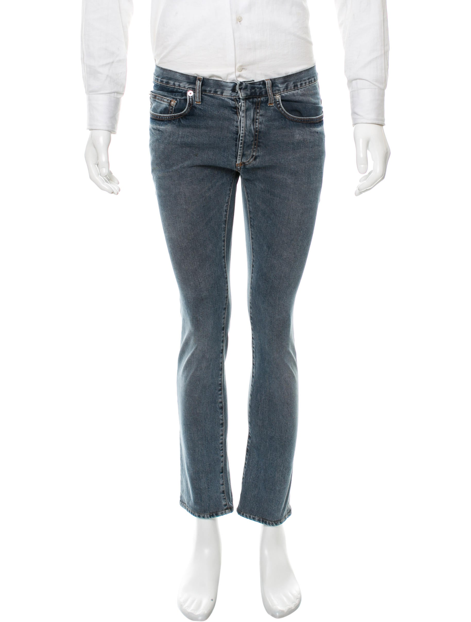 dior homme skinny jeans clothing hmm22889 the realreal. Black Bedroom Furniture Sets. Home Design Ideas