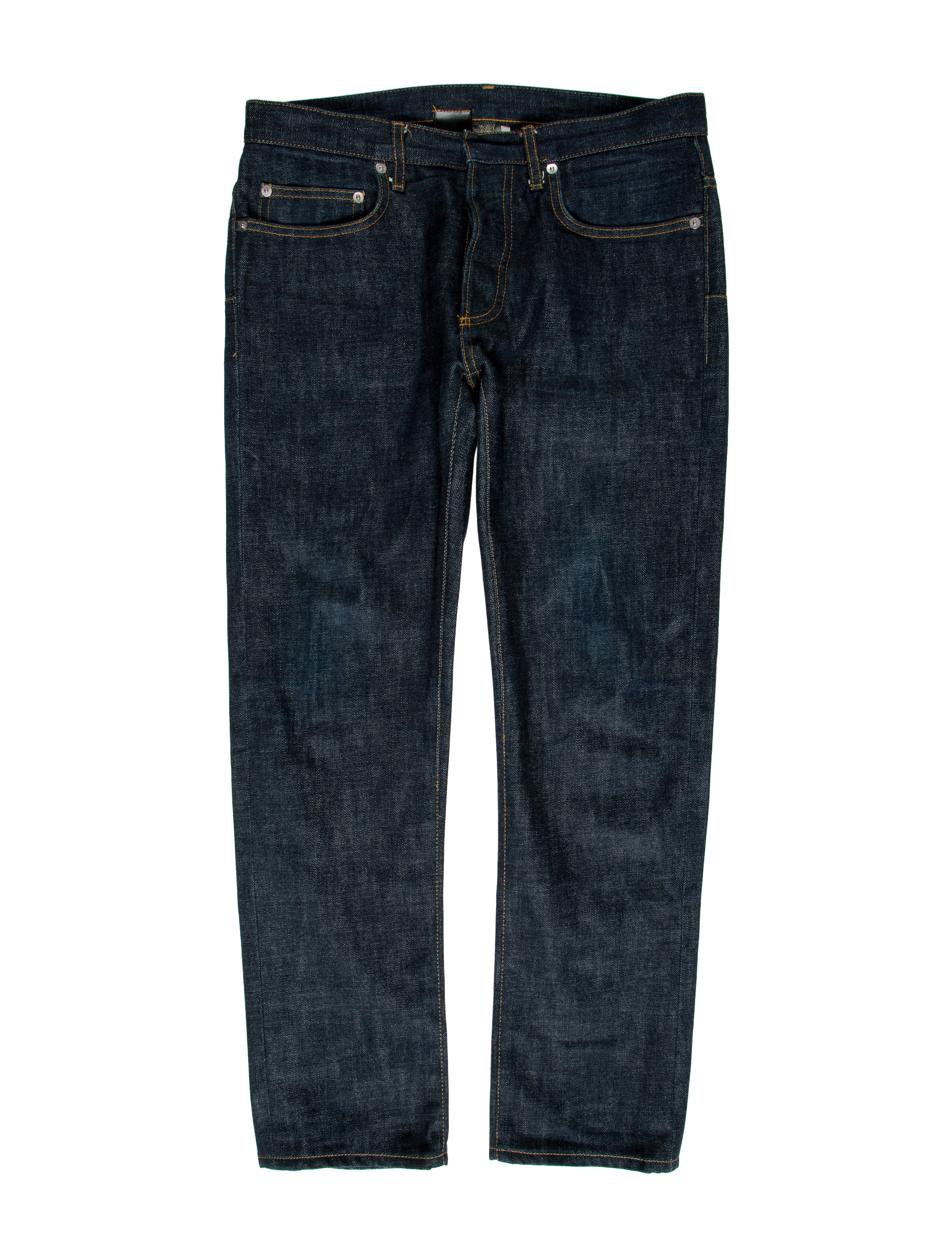dior homme skinny jeans clothing hmm22892 the realreal. Black Bedroom Furniture Sets. Home Design Ideas