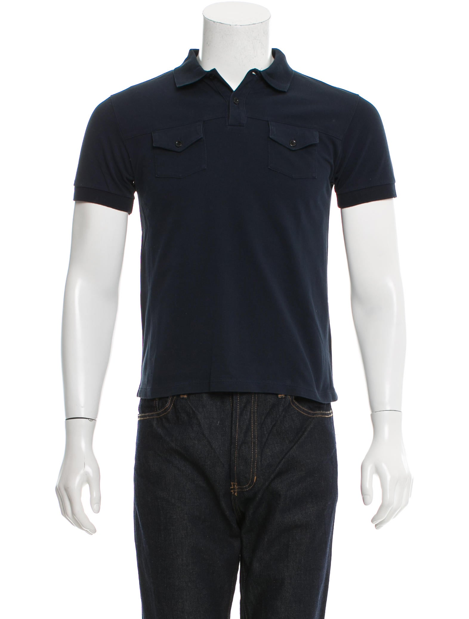 Dior homme two pocket polo shirt clothing hmm22930 for Two pocket polo shirt