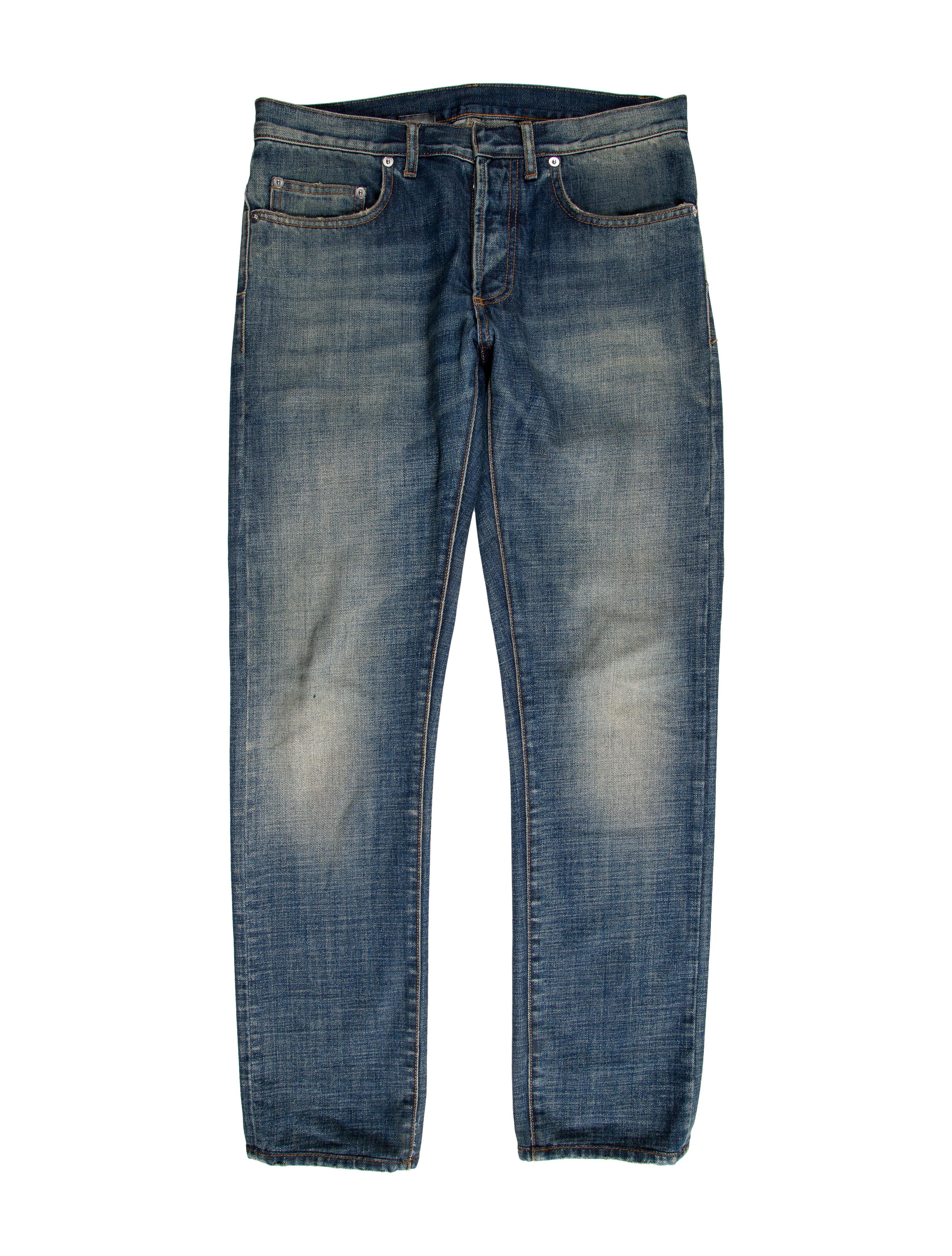 dior homme five pocket skinny jeans clothing hmm22938 the realreal. Black Bedroom Furniture Sets. Home Design Ideas