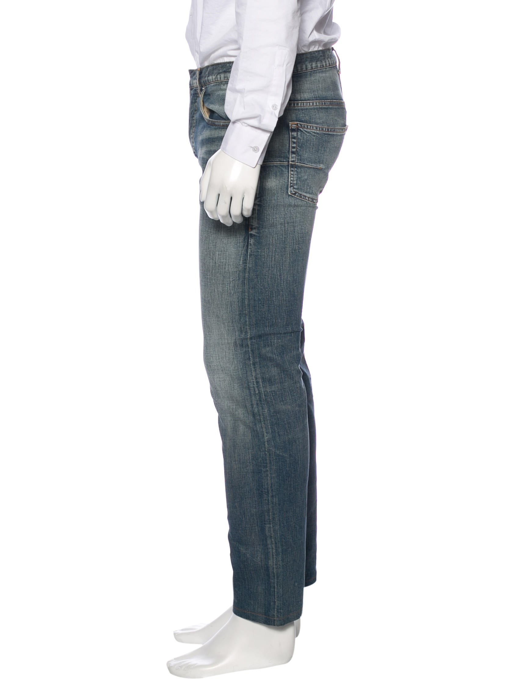 dior homme five pocket slim jeans clothing hmm23001 the realreal. Black Bedroom Furniture Sets. Home Design Ideas