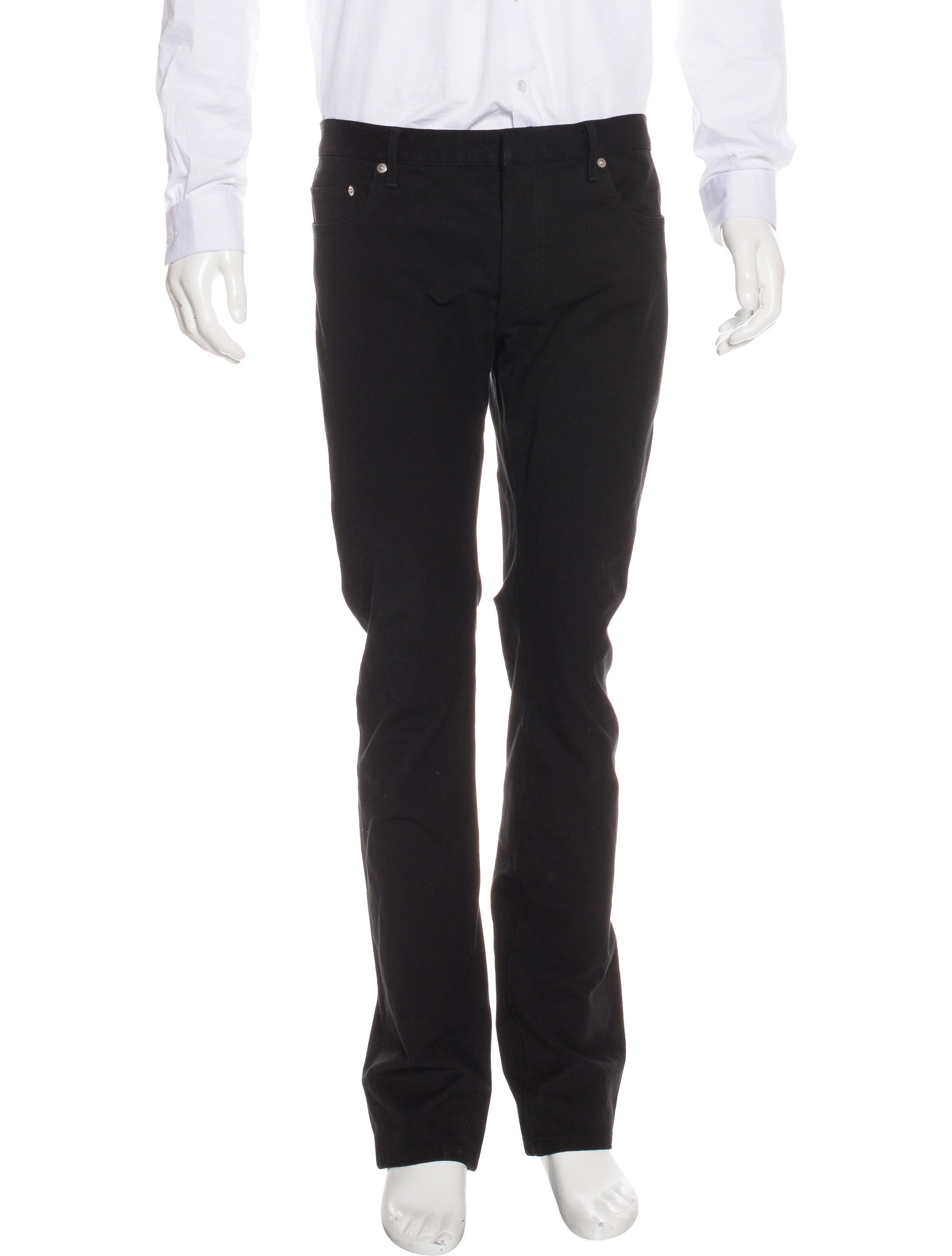 dior homme five pocket skinny jeans clothing hmm23005 the realreal. Black Bedroom Furniture Sets. Home Design Ideas