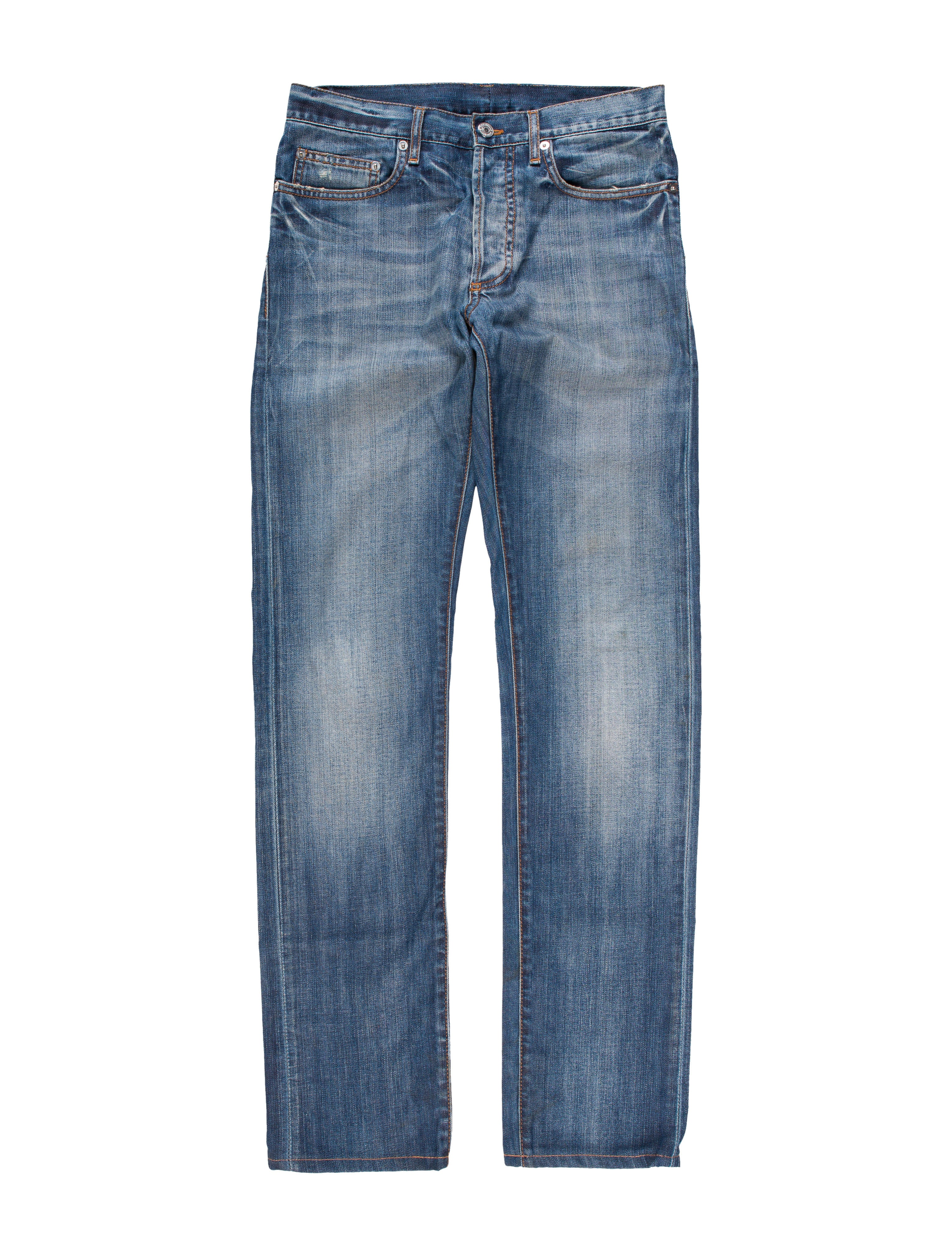 dior homme five pocket skinny jeans clothing hmm23064 the realreal. Black Bedroom Furniture Sets. Home Design Ideas
