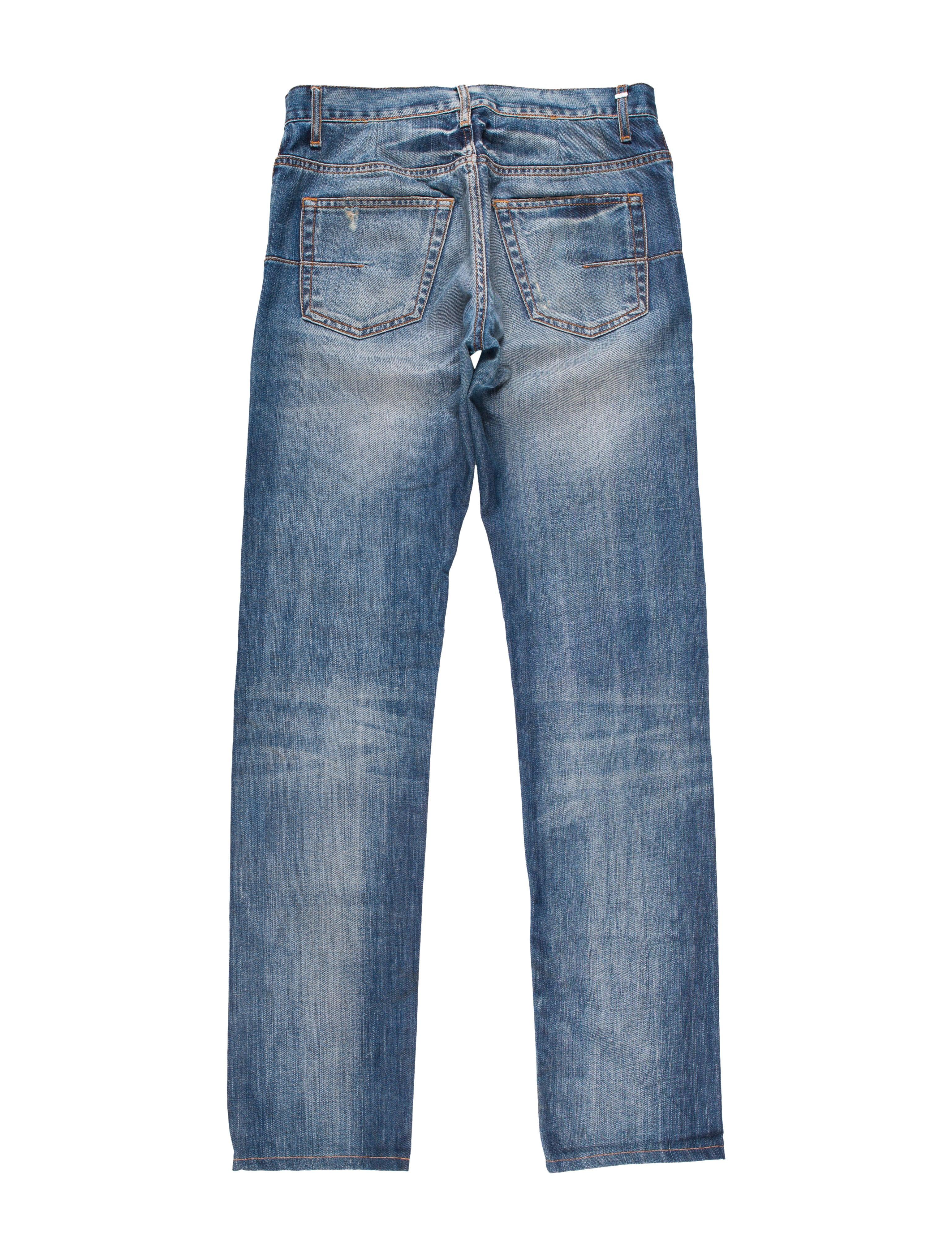 dior homme five pocket skinny jeans clothing hmm23064. Black Bedroom Furniture Sets. Home Design Ideas