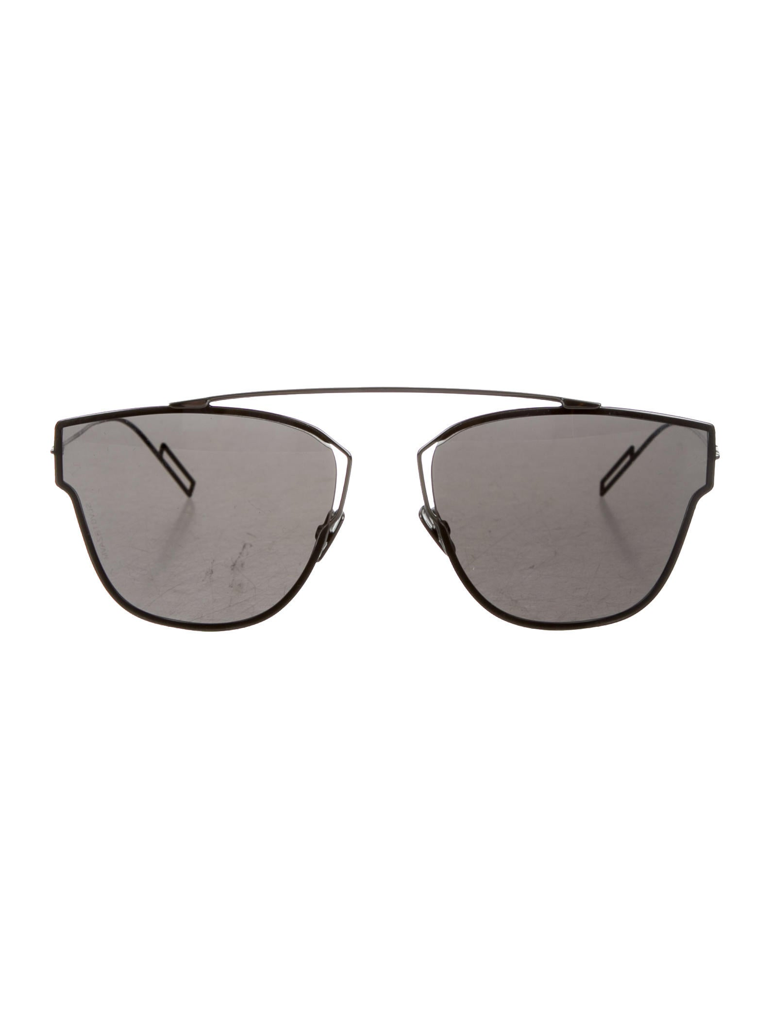 85aeab4087187 Dior Homme Dior 204s Aviator Sunglasses - Accessories - HMM23073 ...