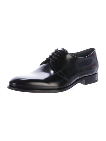 Dior Homme Black Derby Shoes