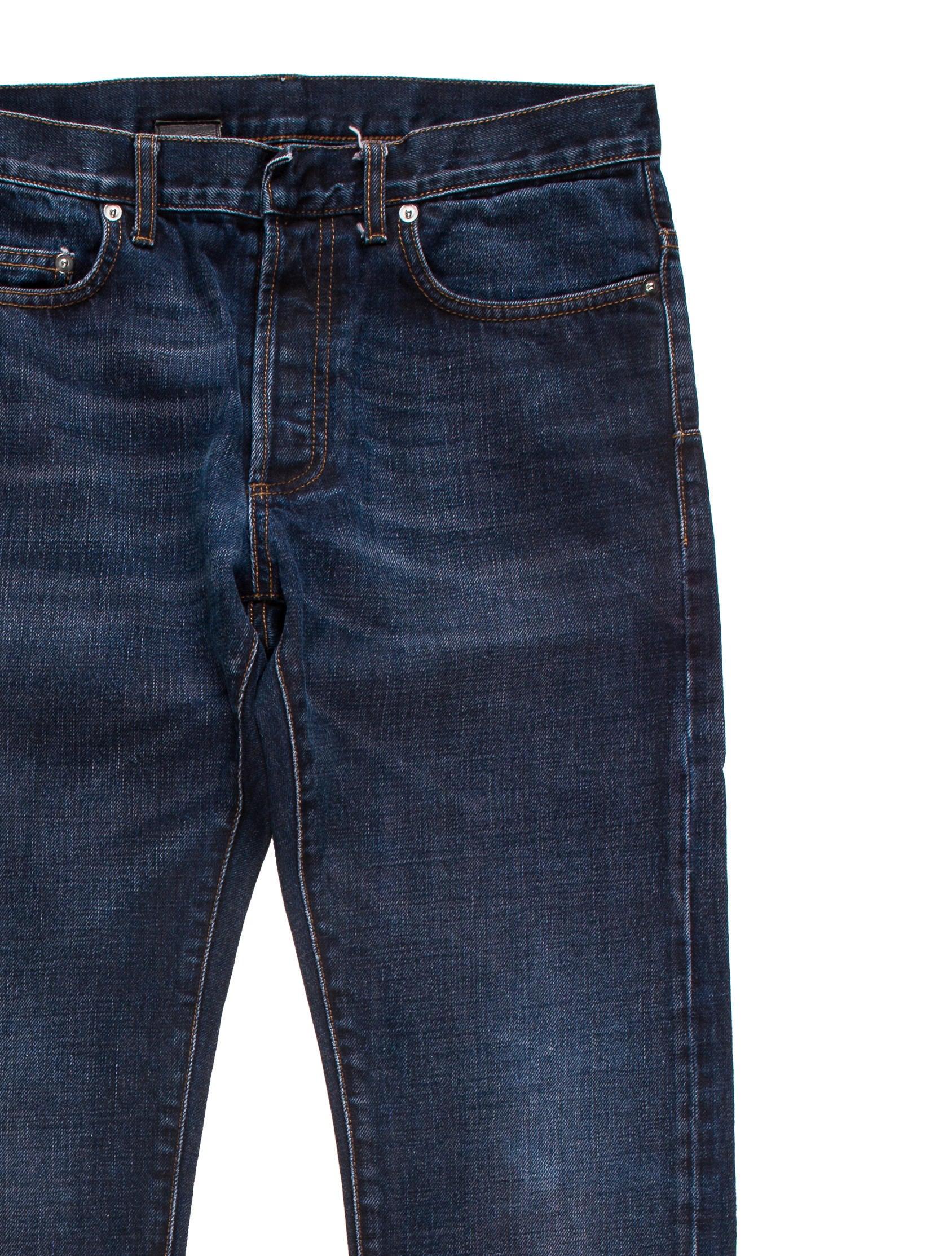dior homme 2016 five pocket skinny jeans clothing hmm23087 the realreal. Black Bedroom Furniture Sets. Home Design Ideas