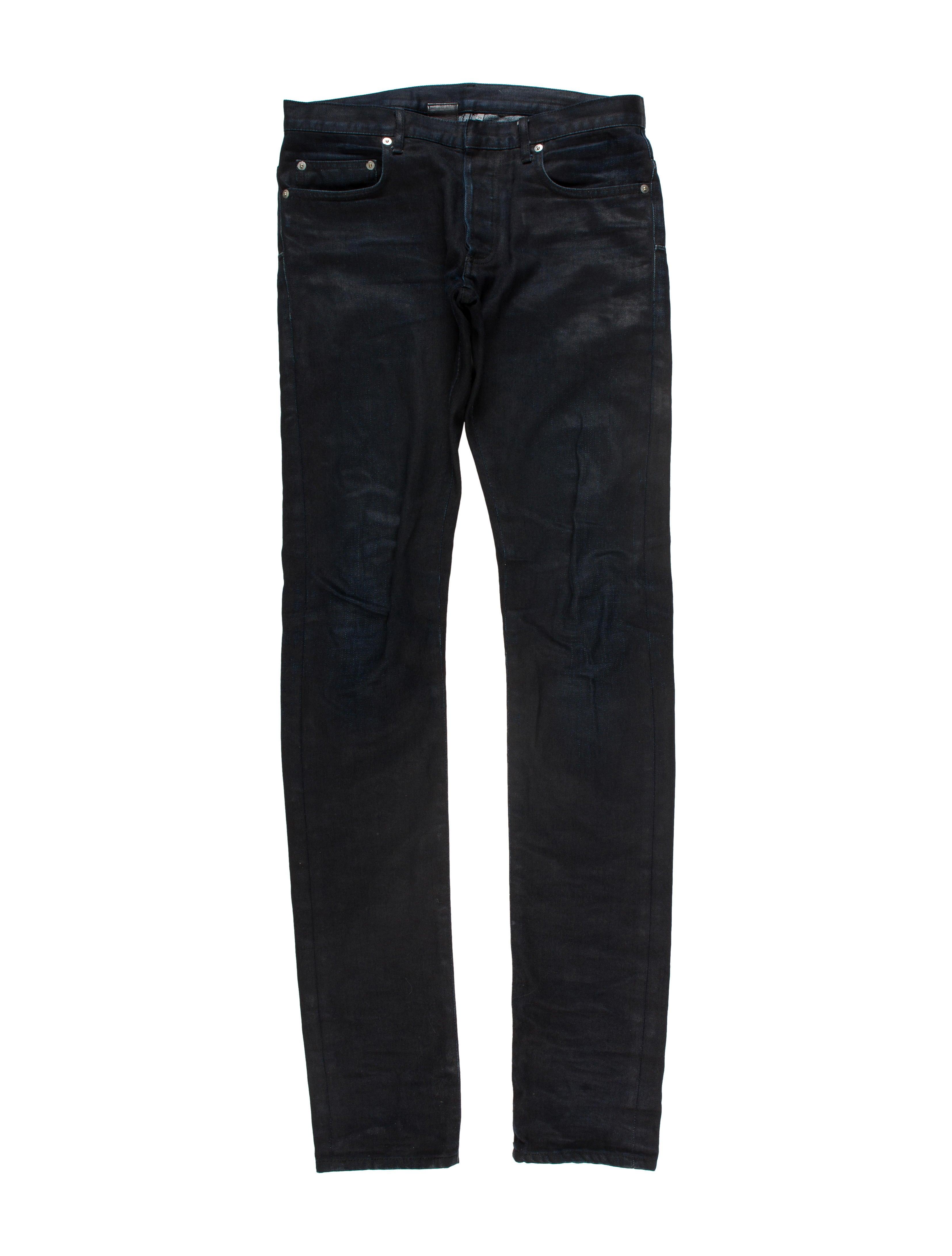 dior homme five pocket skinny jeans clothing hmm23118 the realreal. Black Bedroom Furniture Sets. Home Design Ideas