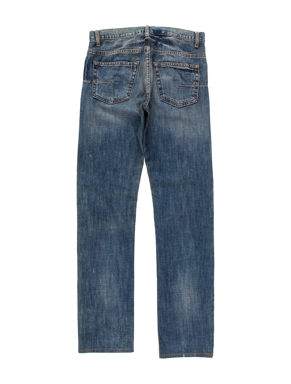 dior homme five pocket skinny jeans clothing hmm23142 the realreal. Black Bedroom Furniture Sets. Home Design Ideas