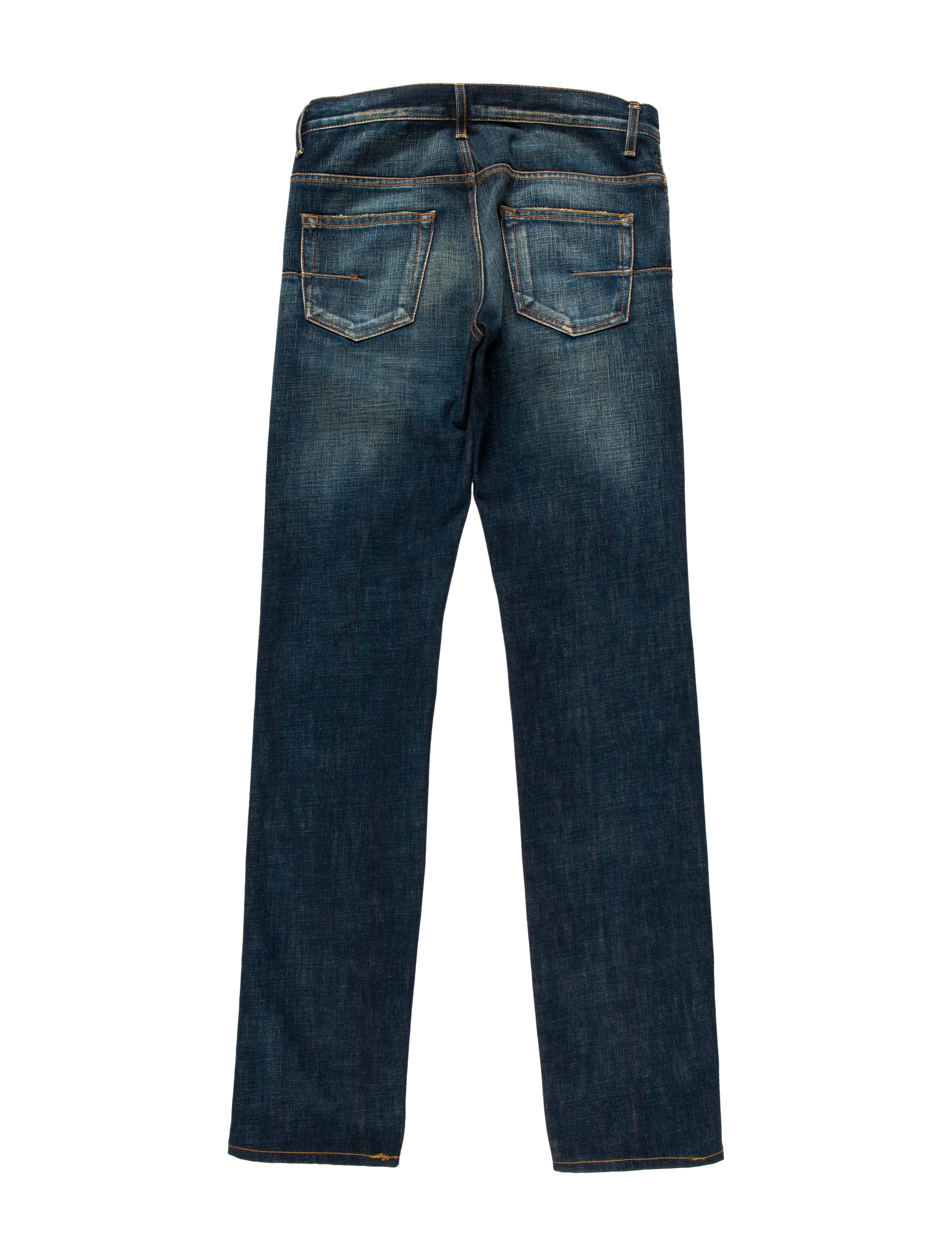 dior homme five pocket skinny jeans clothing hmm23153. Black Bedroom Furniture Sets. Home Design Ideas