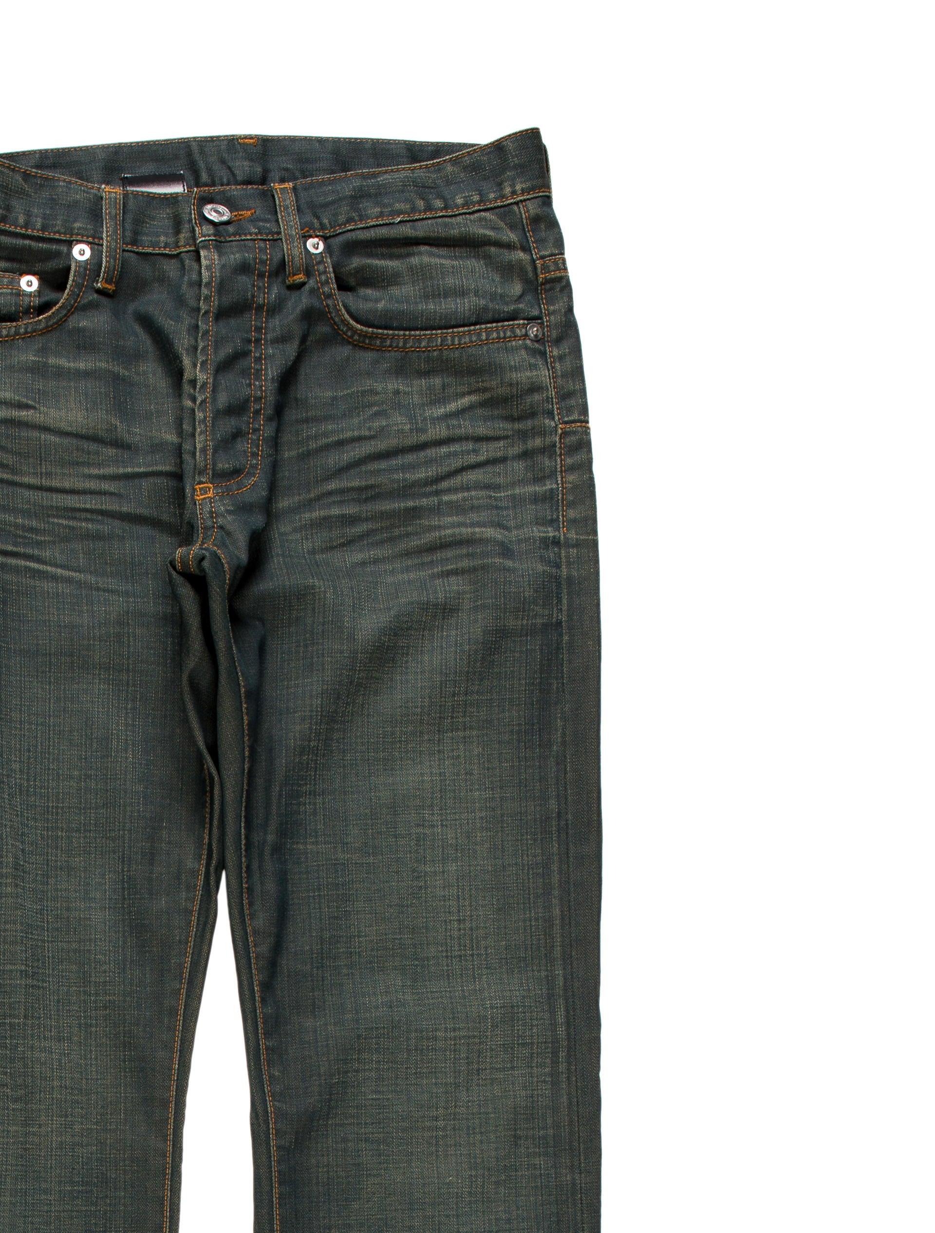 dior homme wax coated slim jeans clothing hmm23154. Black Bedroom Furniture Sets. Home Design Ideas