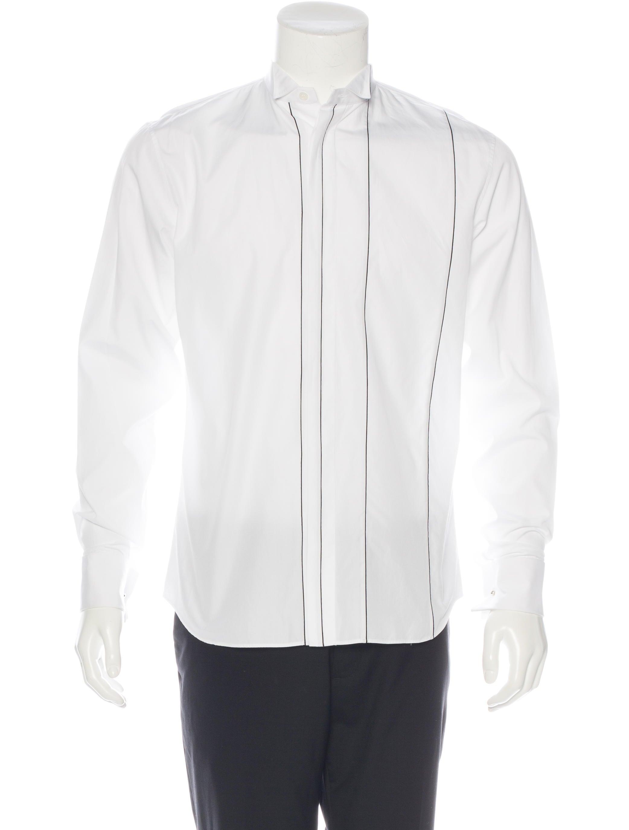 Dior Homme Striped French Cuff Shirt Clothing Hmm23160