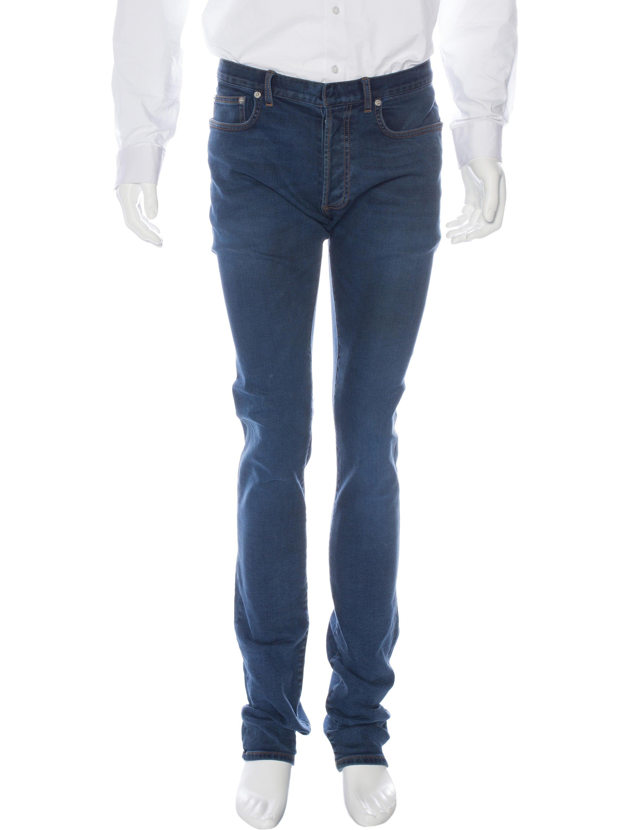 dior homme five pocket skinny jeans clothing hmm23251 the realreal. Black Bedroom Furniture Sets. Home Design Ideas