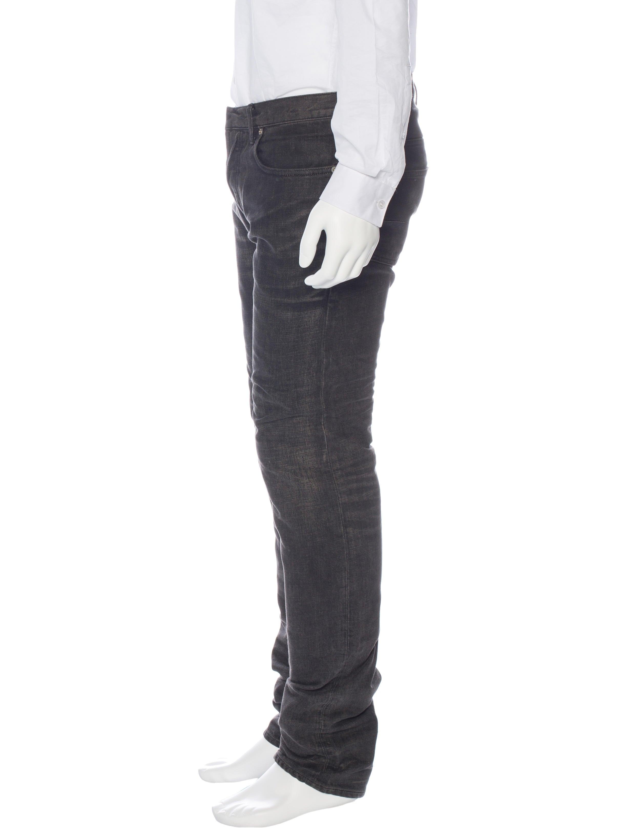 dior homme five pocket skinny jeans clothing hmm23252 the realreal. Black Bedroom Furniture Sets. Home Design Ideas