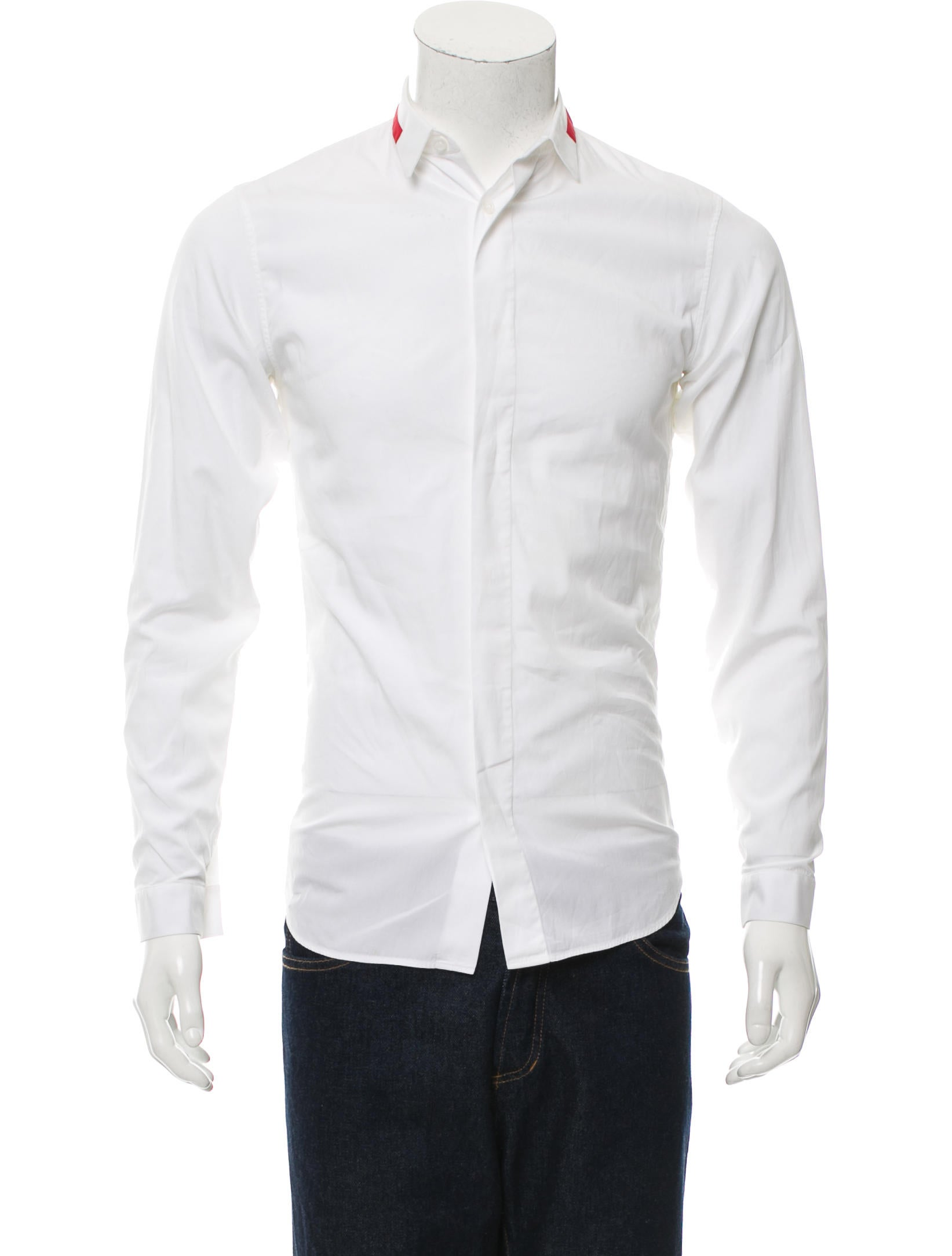 Dior homme long sleeve button up shirt clothing for Christian dior button up shirt