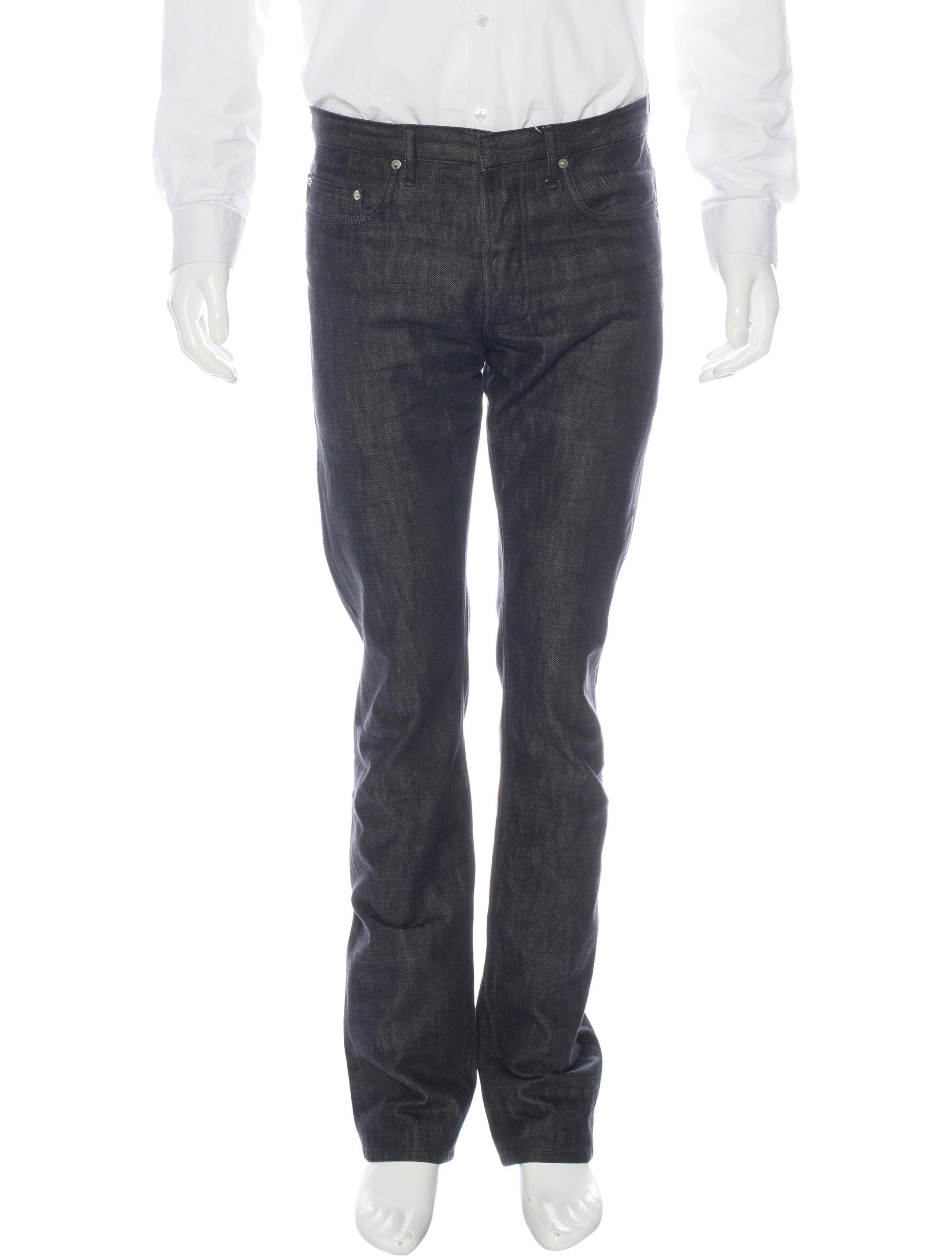 dior homme five pocket slim jeans clothing hmm23268 the realreal. Black Bedroom Furniture Sets. Home Design Ideas