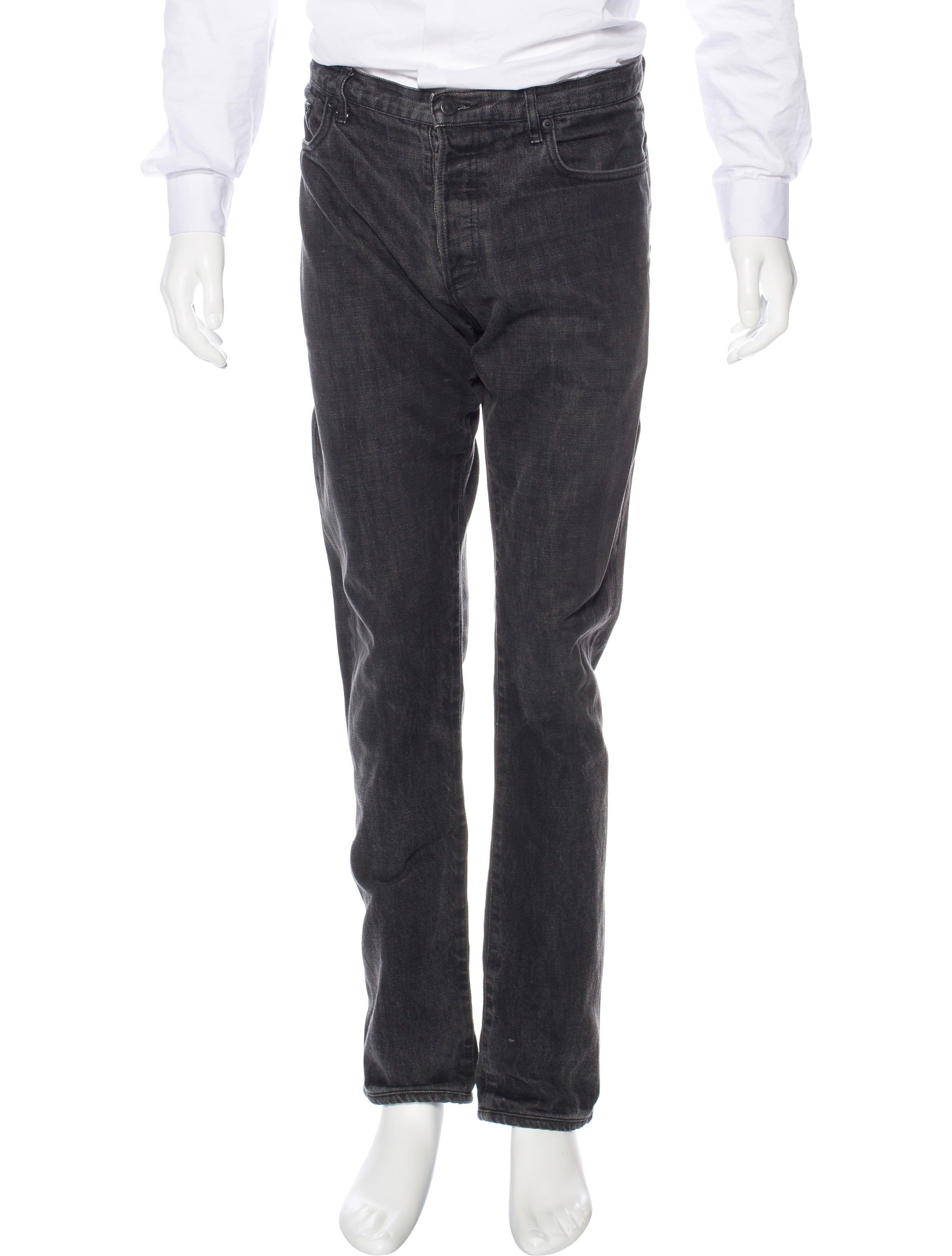dior homme five pocket skinny jeans clothing hmm23287 the realreal. Black Bedroom Furniture Sets. Home Design Ideas