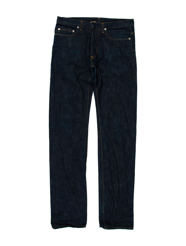 dior homme slim fit jeans clothing hmm23307 the realreal. Black Bedroom Furniture Sets. Home Design Ideas