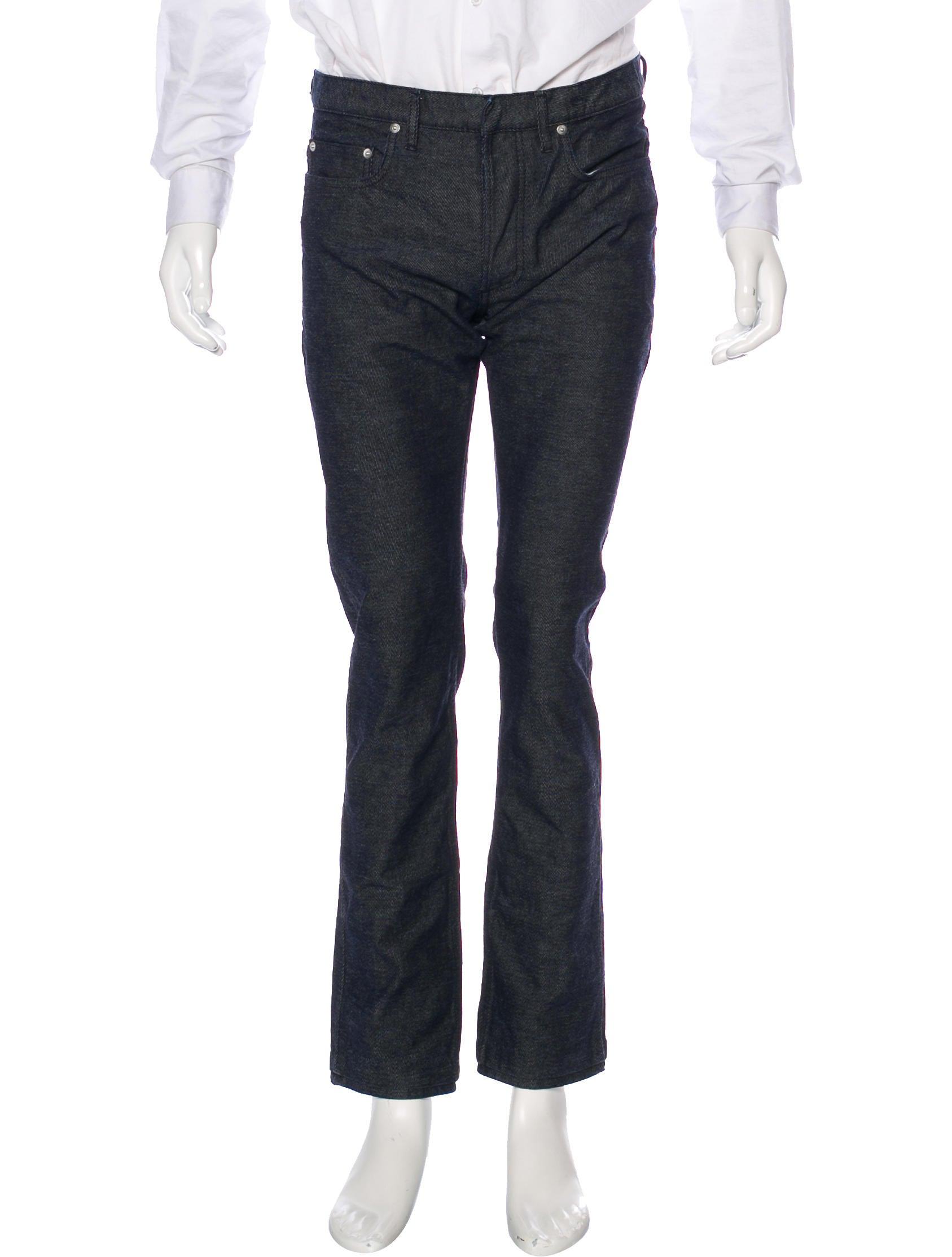 dior homme five pocket slim jeans clothing hmm23360 the realreal. Black Bedroom Furniture Sets. Home Design Ideas