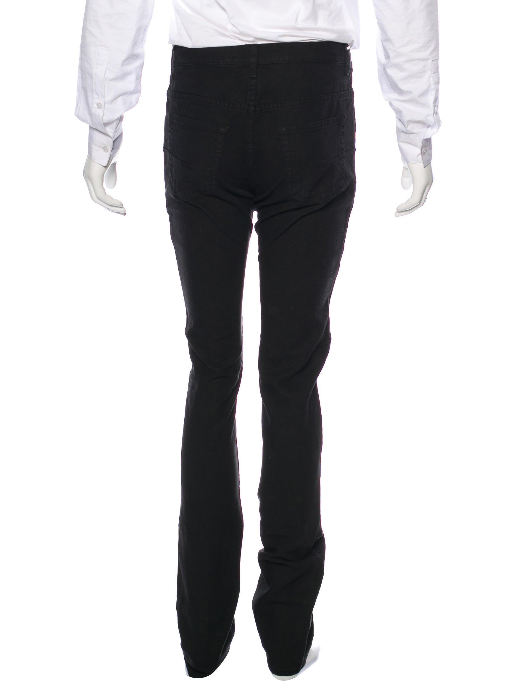 dior homme five pocket slim jeans clothing hmm23361. Black Bedroom Furniture Sets. Home Design Ideas