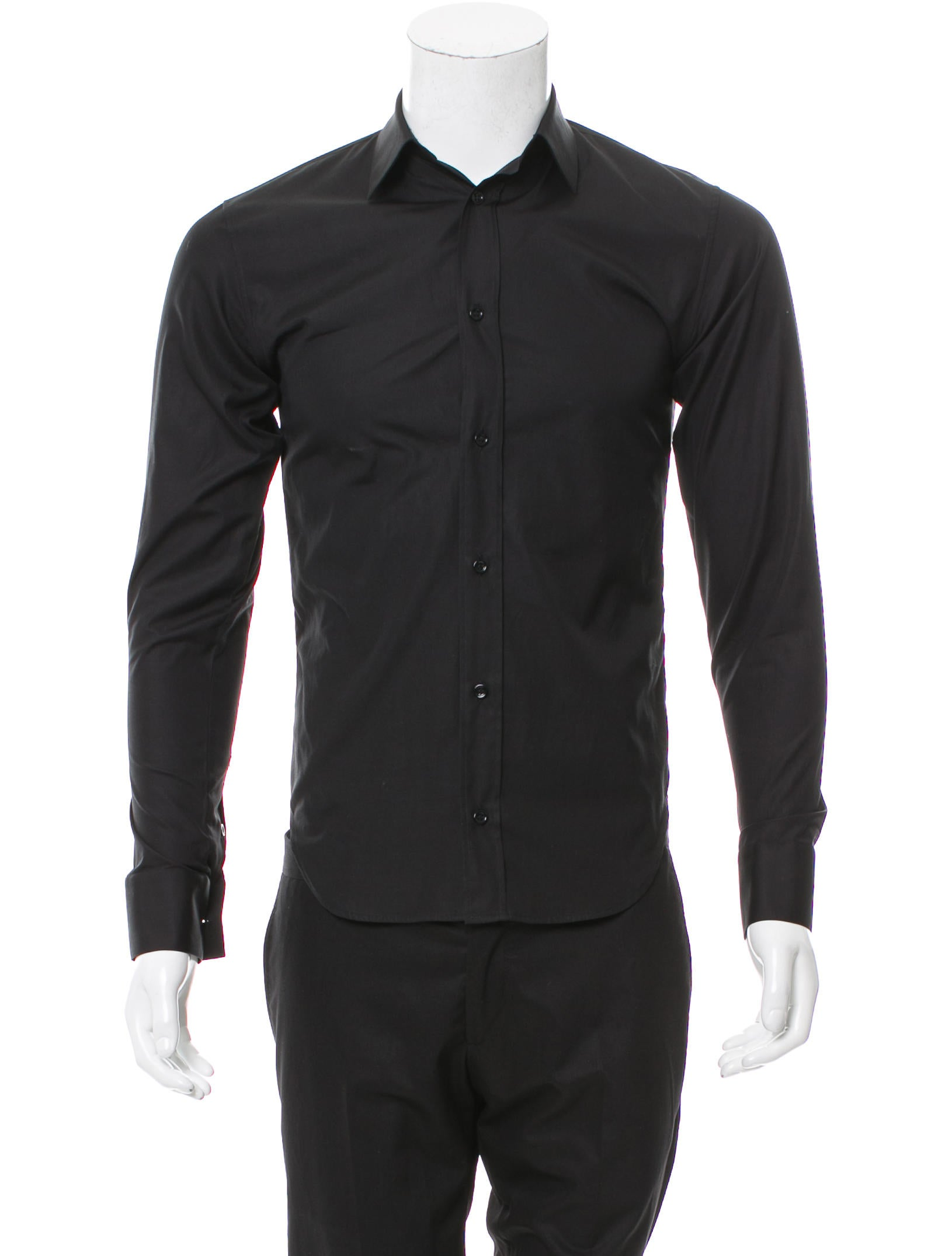 Dior Homme Long Sleeve Button-Up Shirt