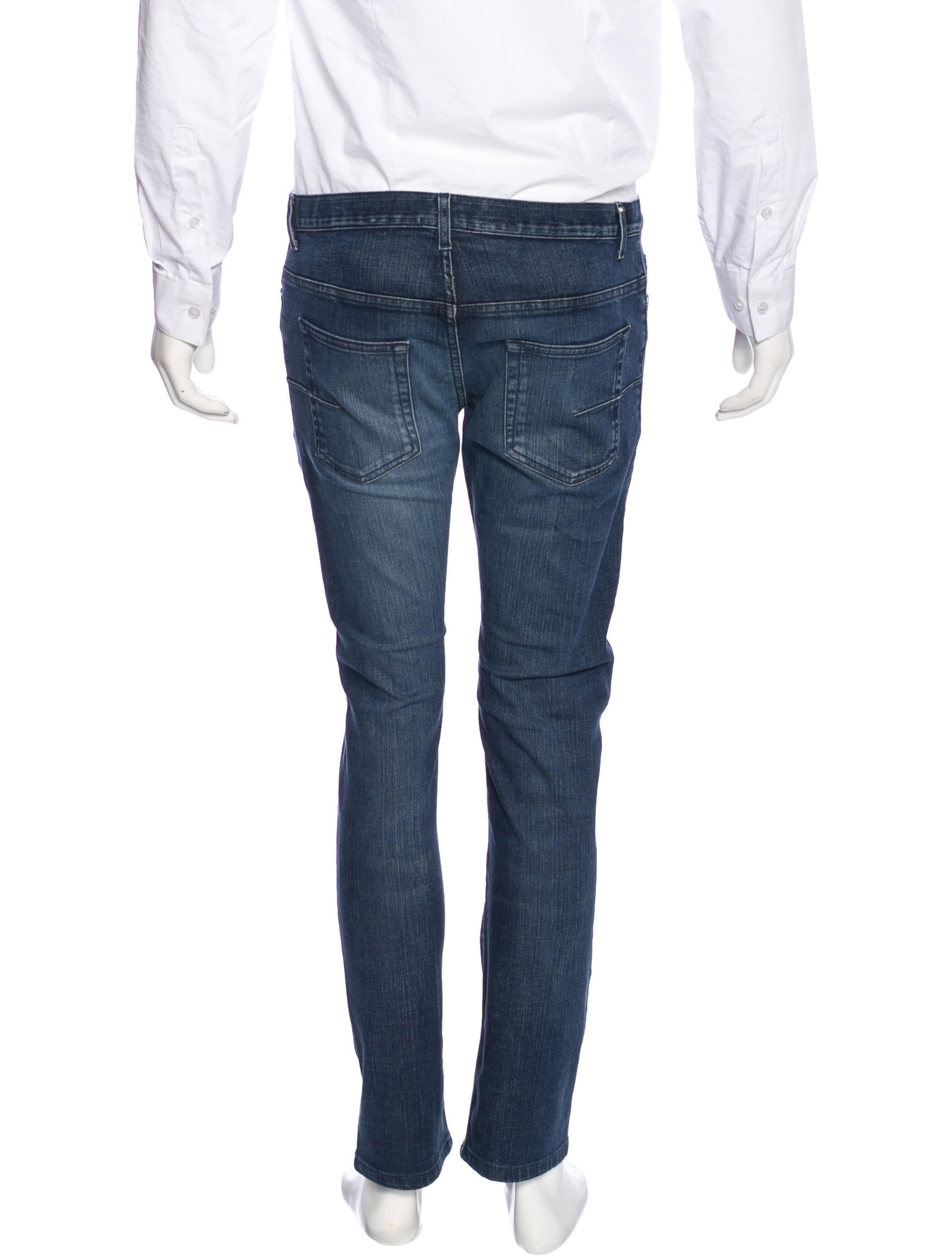 dior homme five pocket slim jeans clothing hmm23445 the realreal. Black Bedroom Furniture Sets. Home Design Ideas