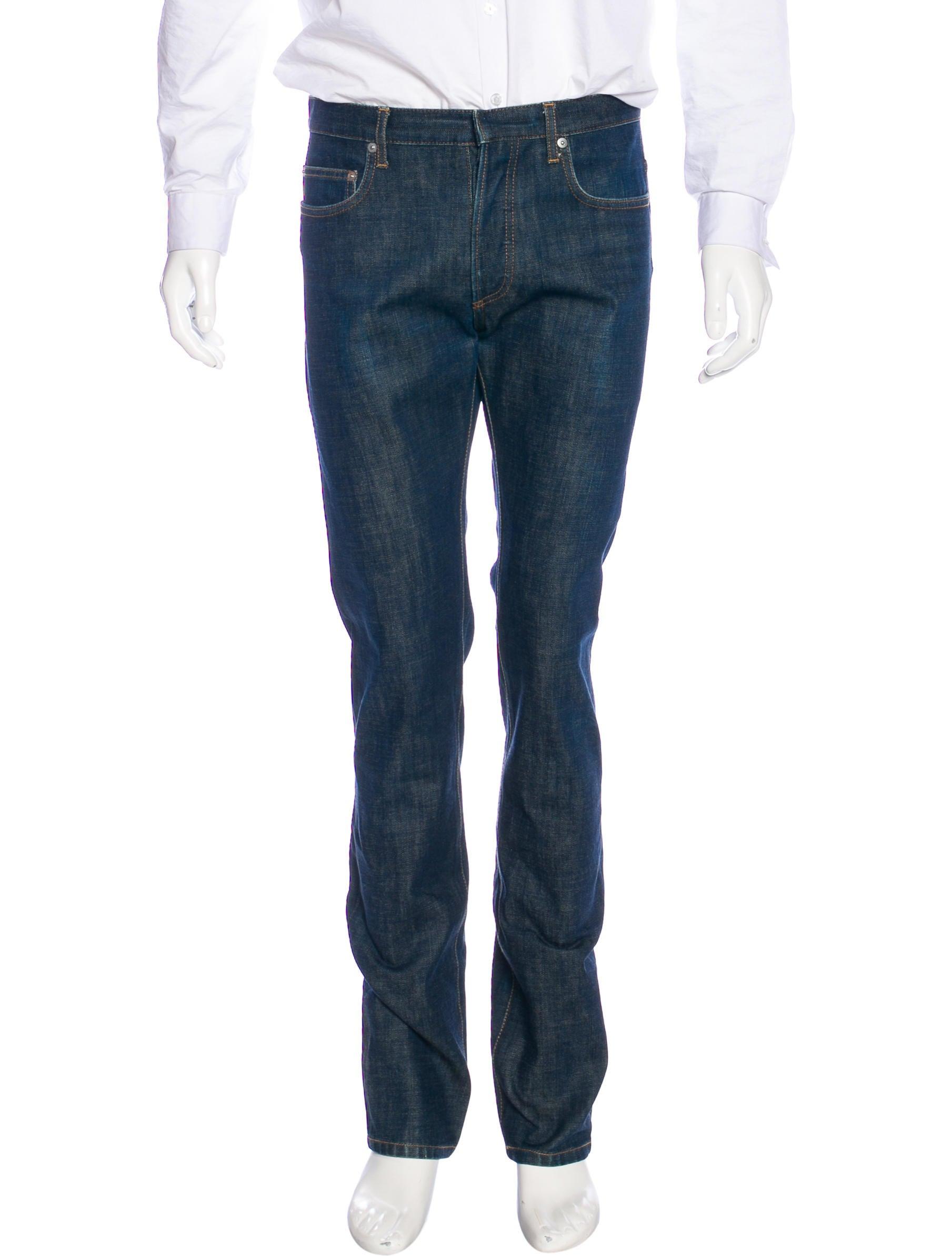 dior homme five pocket slim jeans clothing hmm23505 the realreal. Black Bedroom Furniture Sets. Home Design Ideas