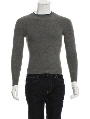 Dior Homme Crew Neck Virgin Wool Sweater None