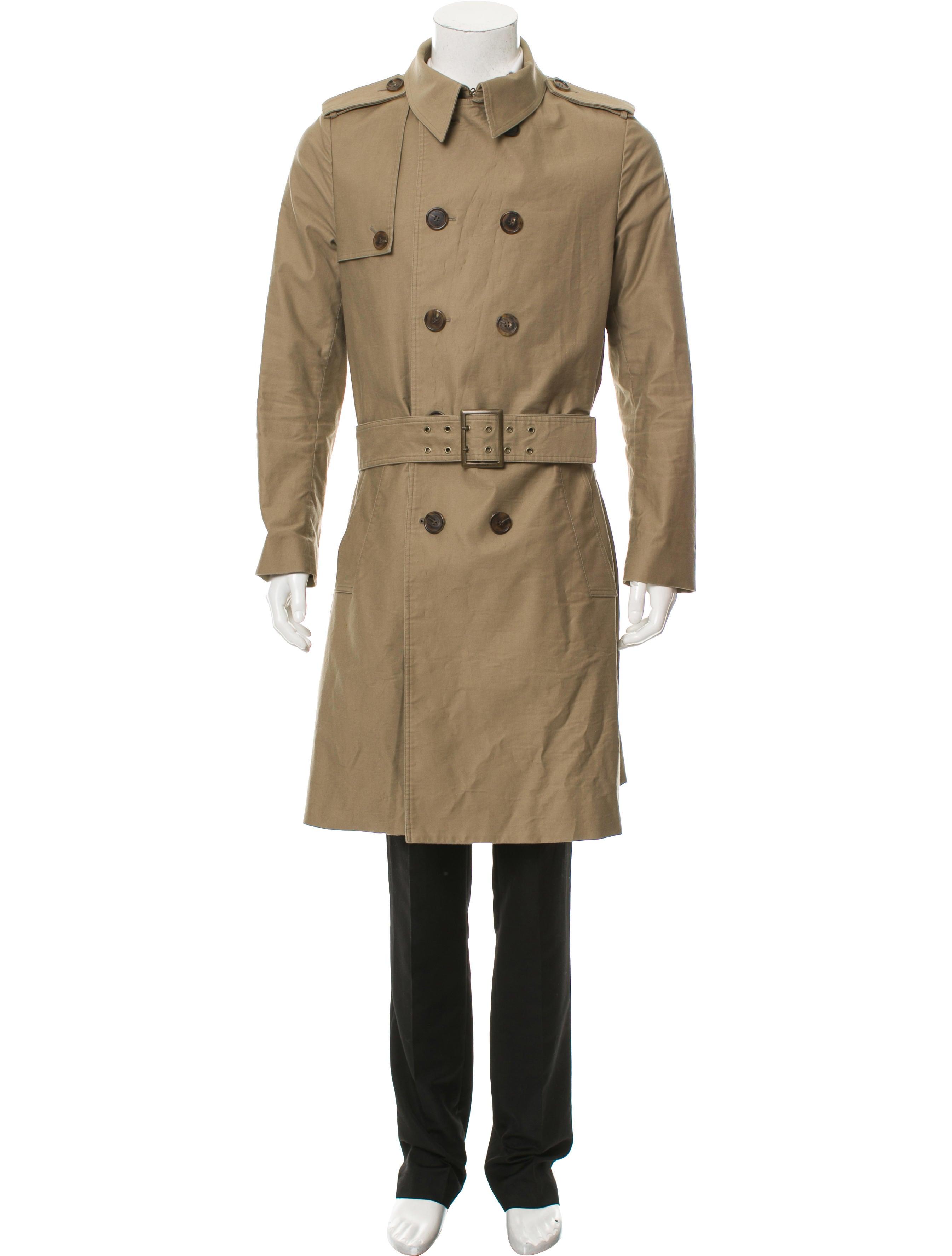 dior homme 2007 belted trench coat clothing hmm23700. Black Bedroom Furniture Sets. Home Design Ideas