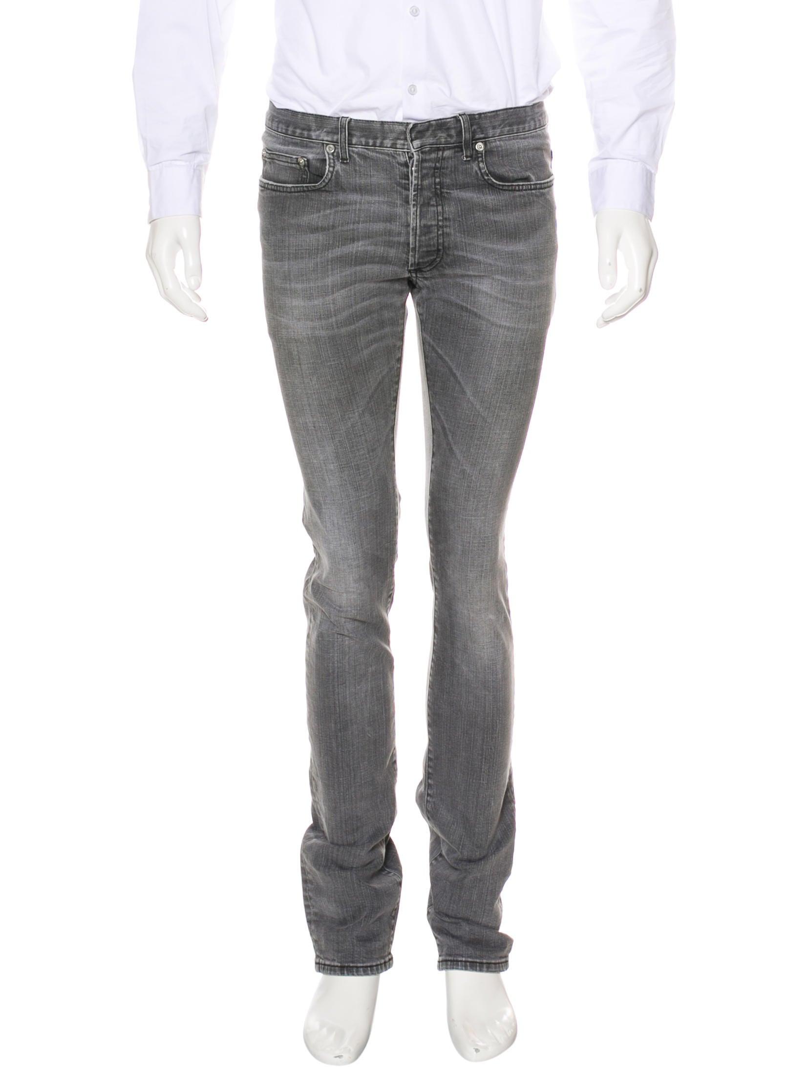 dior homme skinny jeans clothing hmm23736 the realreal. Black Bedroom Furniture Sets. Home Design Ideas
