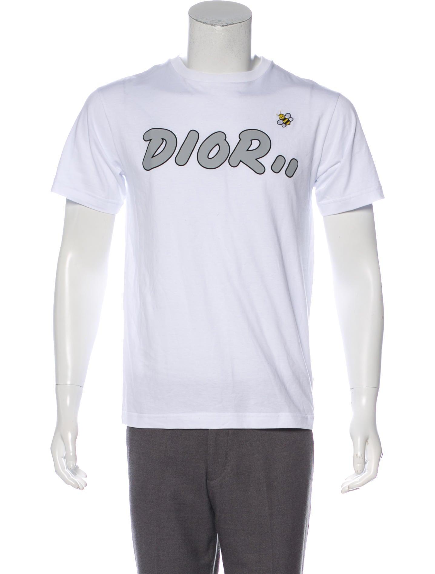 48f66ab3 Dior Homme x KAWS 2019 Logo Bee T-Shirt - Clothing - HMM26575 | The ...