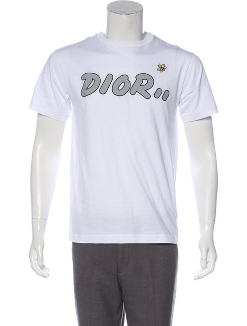 54938027537 Dior Homme x KAWS 2019 Logo Bee T-Shirt - Clothing - HMM26575 | The ...