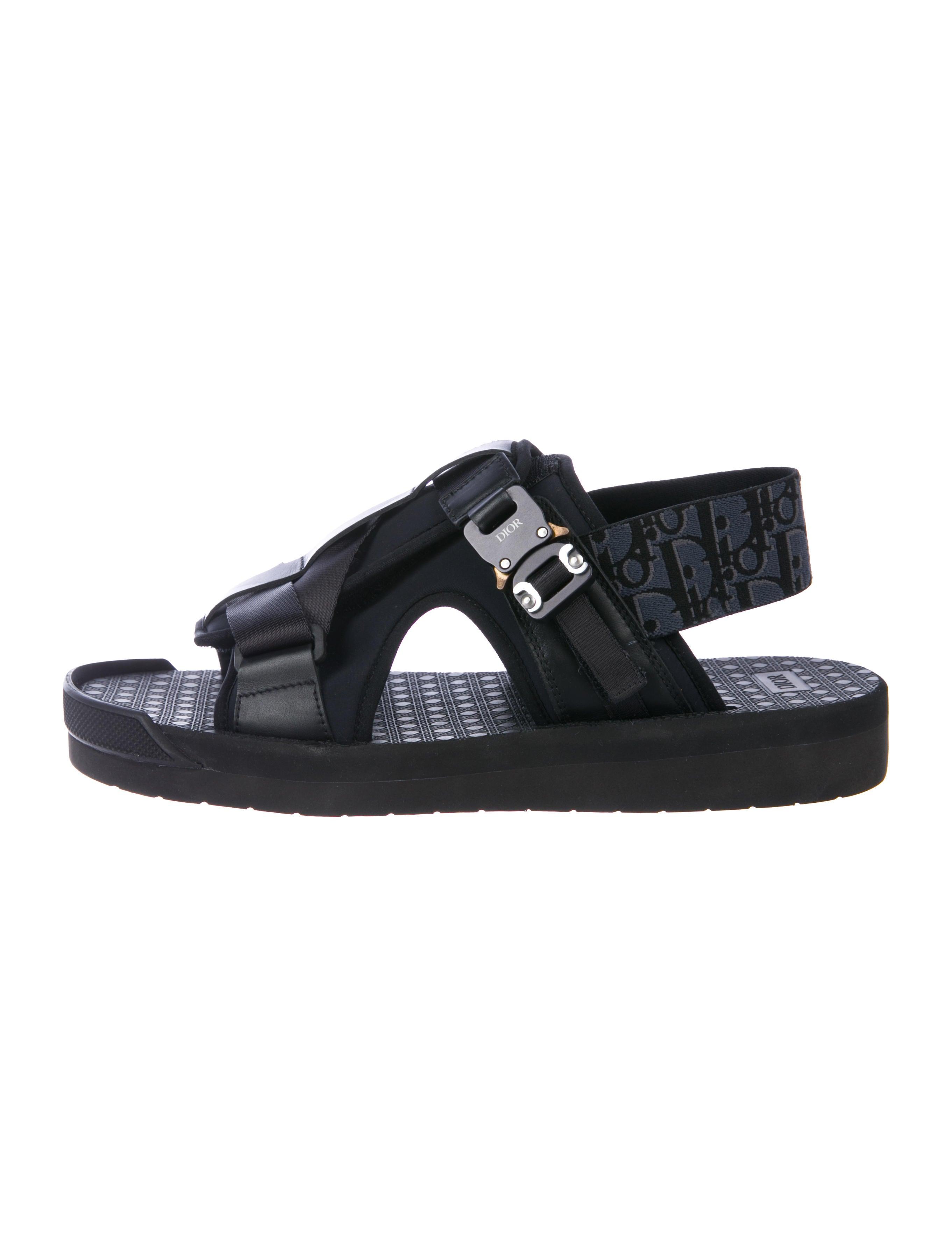 Dior Homme Neoprene Strap Sandals