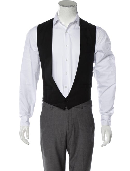 Dior Homme Wool Suit Vest black