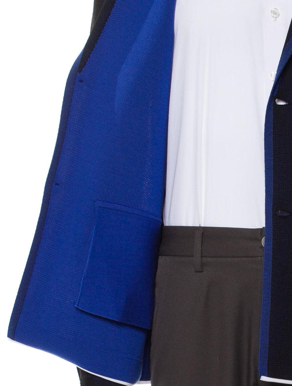 Dior Homme Sport Coat Blue - image 4