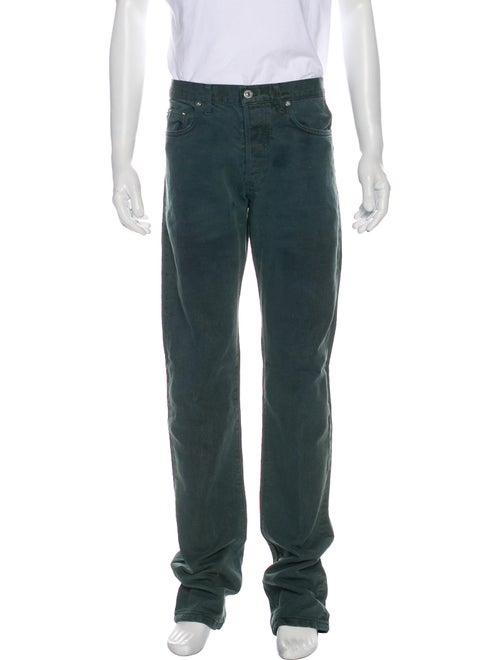 Dior Homme Vintage Slim Fit Jeans Green