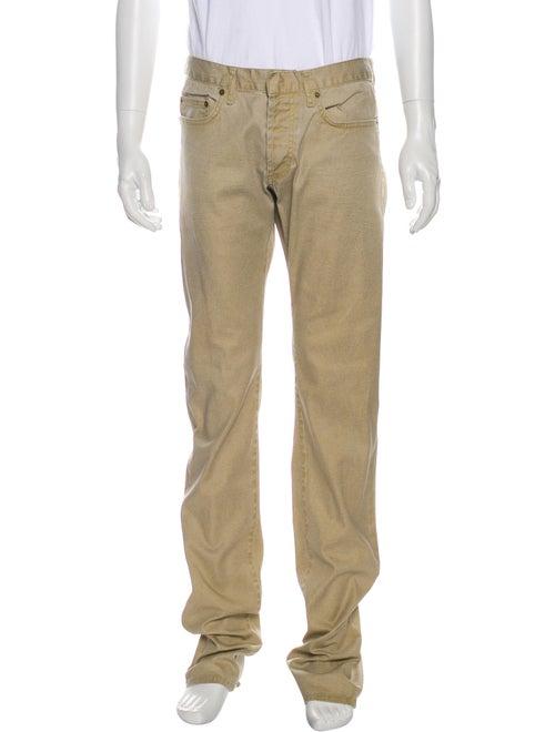 Dior Homme Vintage Slim Fit Jeans Gold