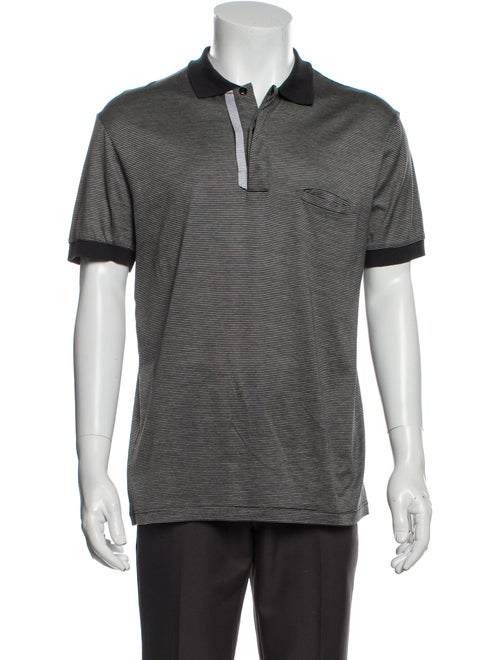 Dior Homme Vintage 2008 Polo Shirt Grey