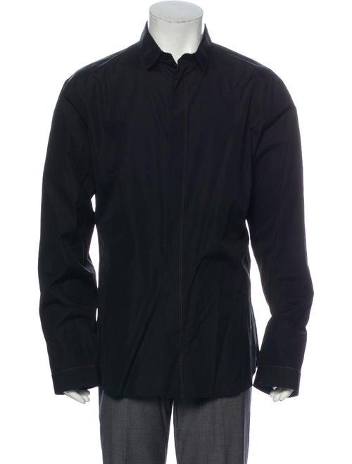 Dior Homme Long Sleeve Dress Shirt Black