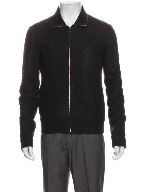 Dior Homme Leather Jacket Black