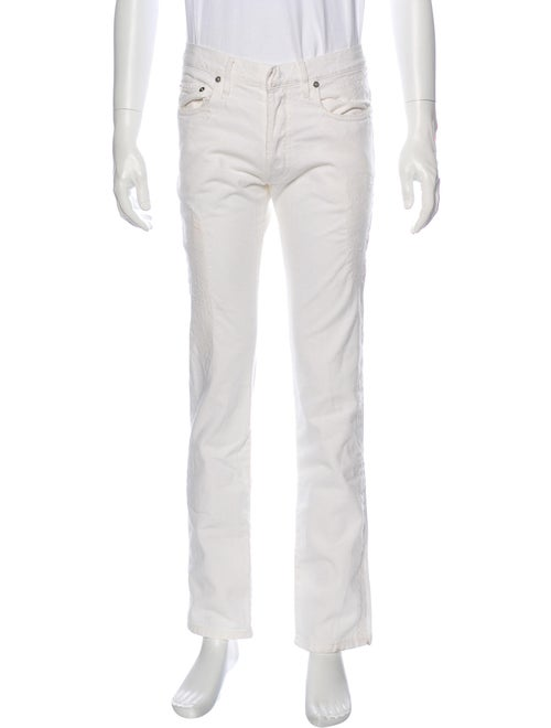 Dior Homme Skinny Jeans White