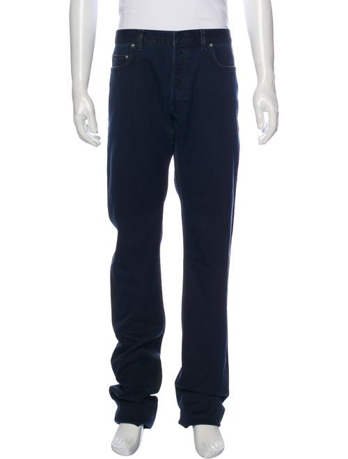 Dior Homme Overdye Straight-Leg Jeans Black