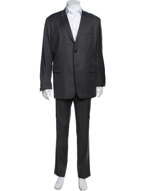 Dior Homme Wool Cargo Suit Virgin Wool Two-Piece S